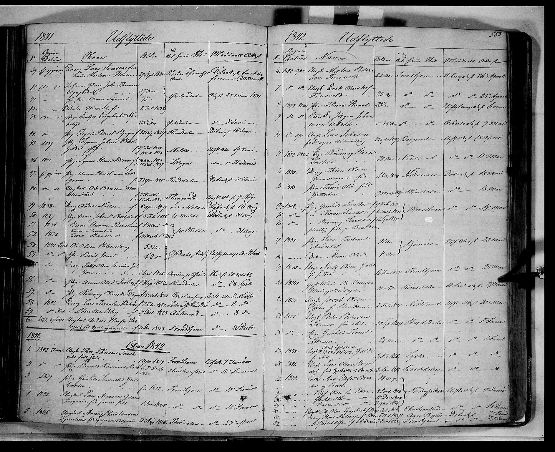 SAH, Lom prestekontor, K/L0006: Ministerialbok nr. 6B, 1837-1863, s. 553