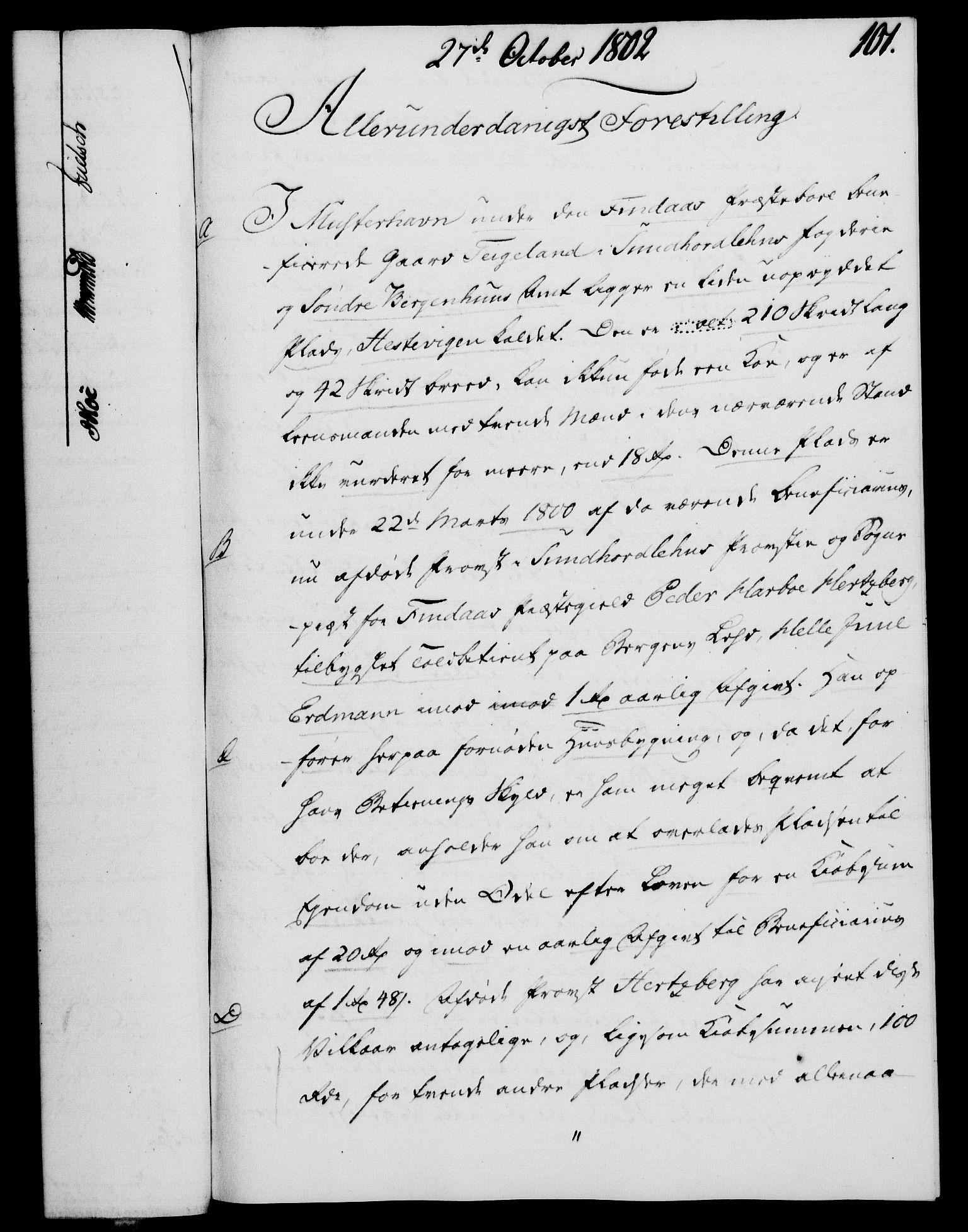 RA, Rentekammeret, Kammerkanselliet, G/Gf/Gfa/L0084: Norsk relasjons- og resolusjonsprotokoll (merket RK 52.84), 1802, s. 611