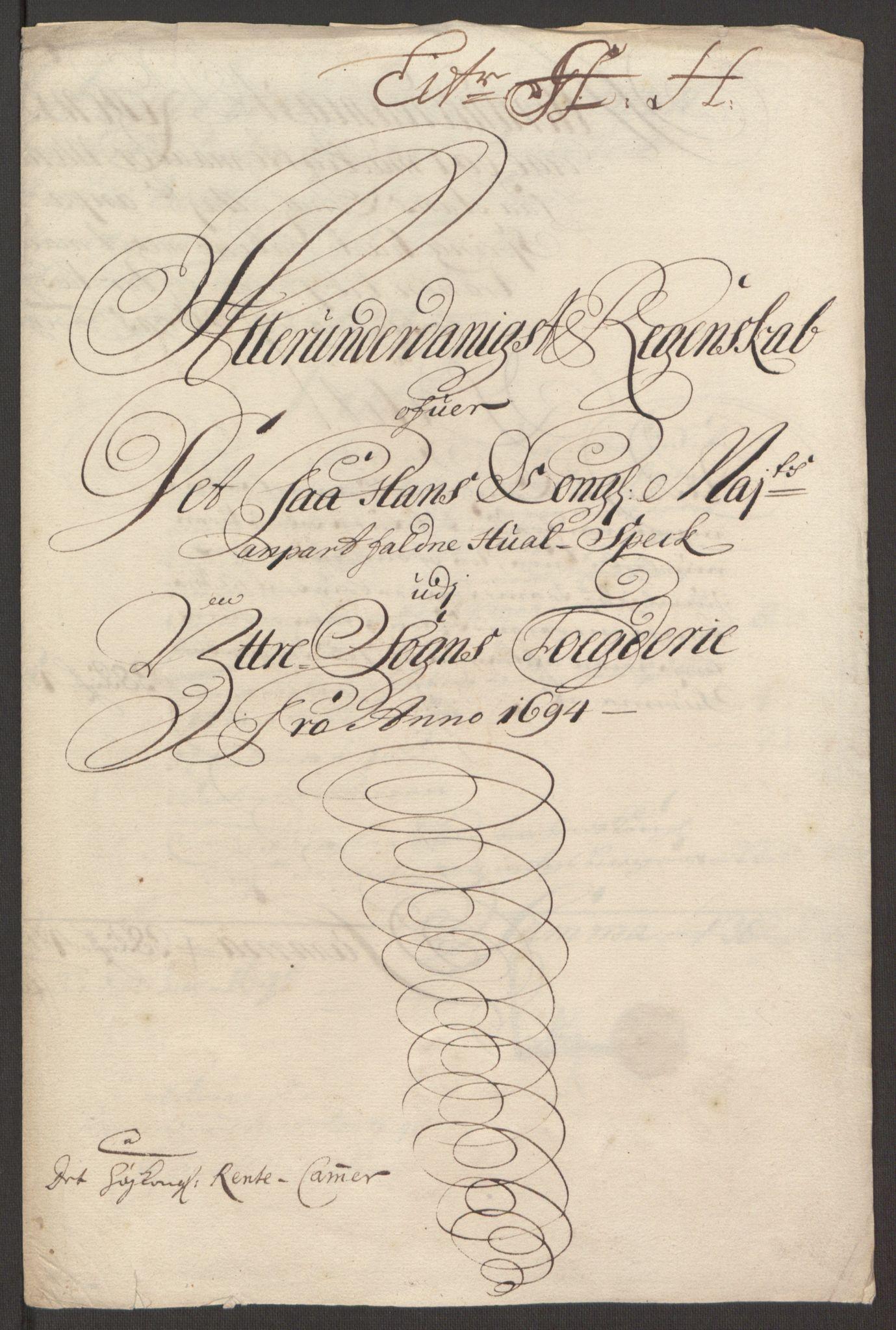 RA, Rentekammeret inntil 1814, Reviderte regnskaper, Fogderegnskap, R52/L3307: Fogderegnskap Sogn, 1693-1694, s. 456