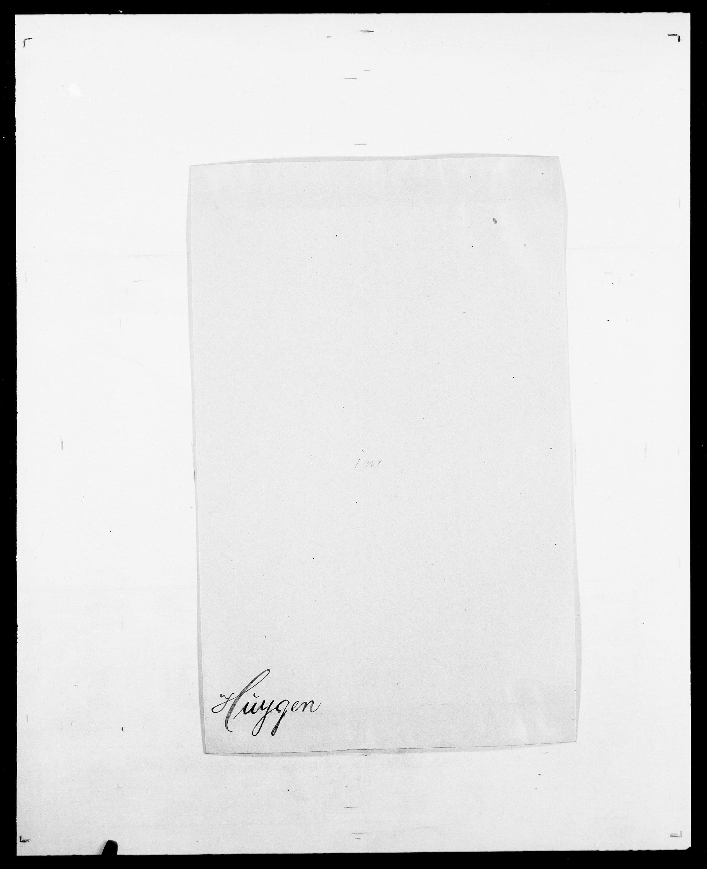 SAO, Delgobe, Charles Antoine - samling, D/Da/L0019: van der Hude - Joys, s. 110