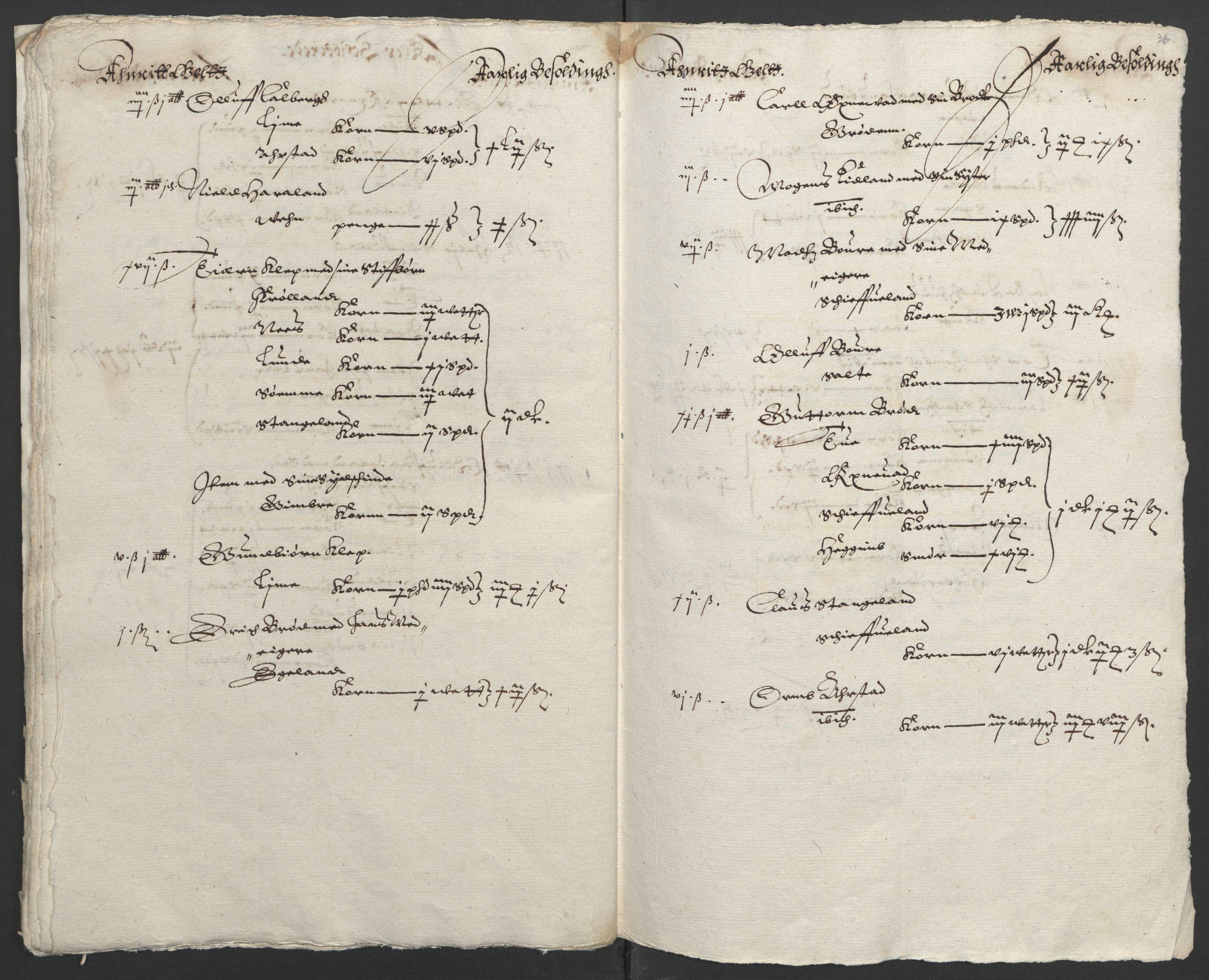RA, Stattholderembetet 1572-1771, Ek/L0010: Jordebøker til utlikning av rosstjeneste 1624-1626:, 1624-1626, s. 130