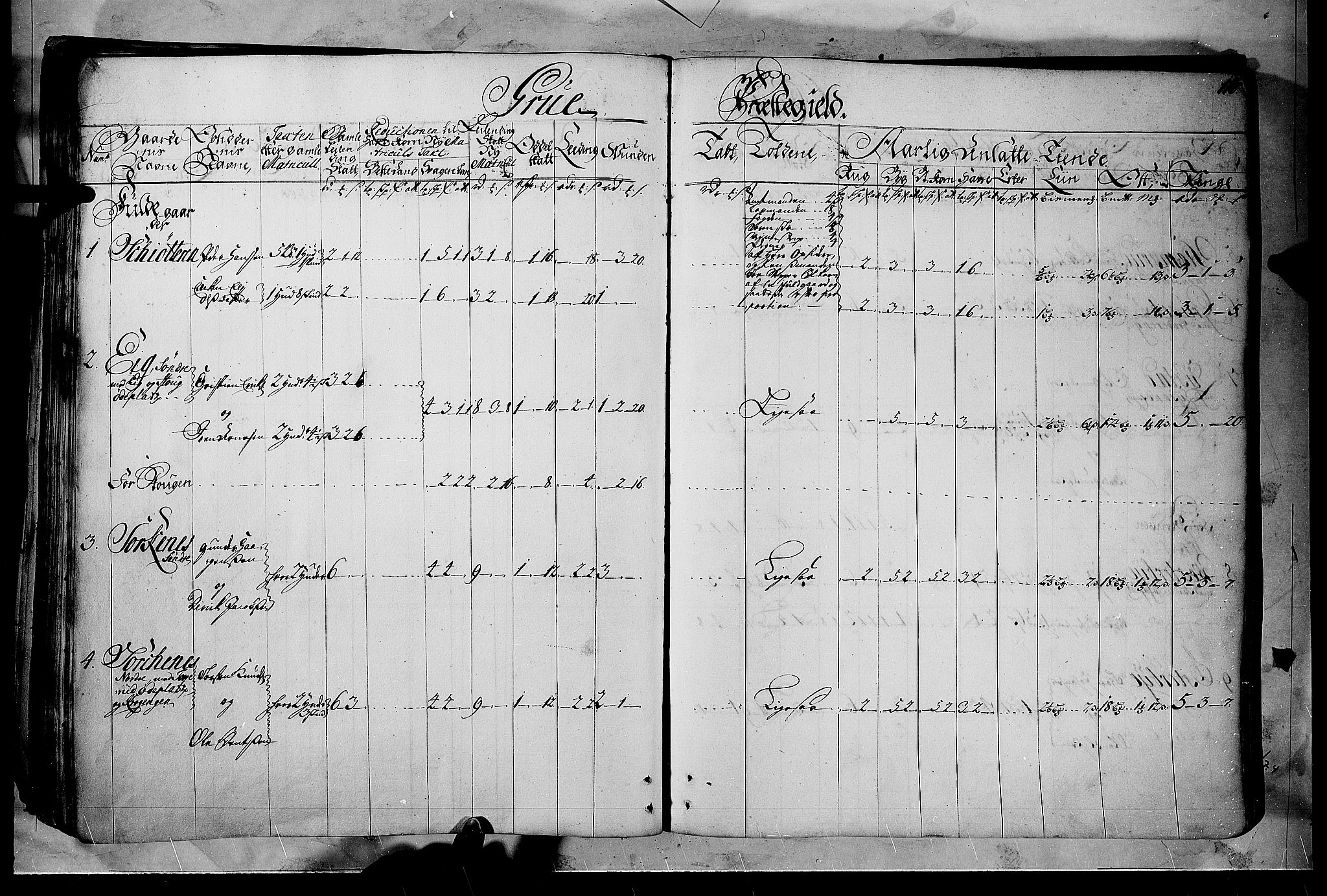 RA, Rentekammeret inntil 1814, Realistisk ordnet avdeling, N/Nb/Nbf/L0102: Solør, Østerdalen og Odal matrikkelprotokoll, 1723, s. 115b-116a