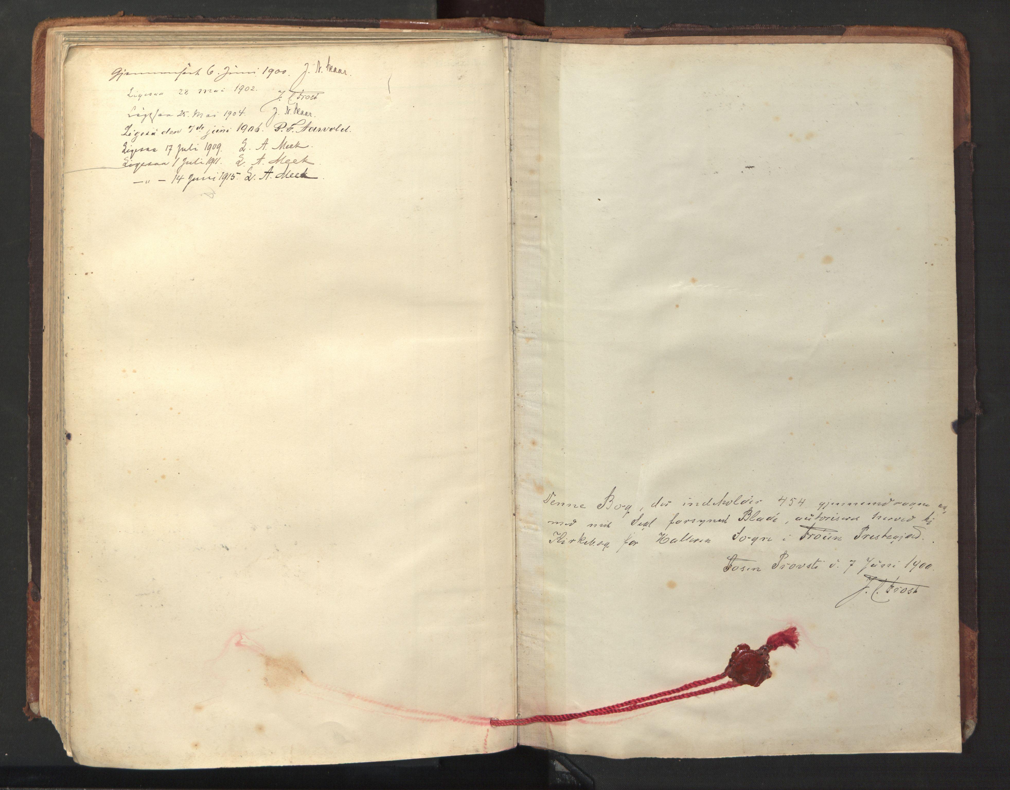 SAT, Ministerialprotokoller, klokkerbøker og fødselsregistre - Sør-Trøndelag, 641/L0596: Ministerialbok nr. 641A02, 1898-1915