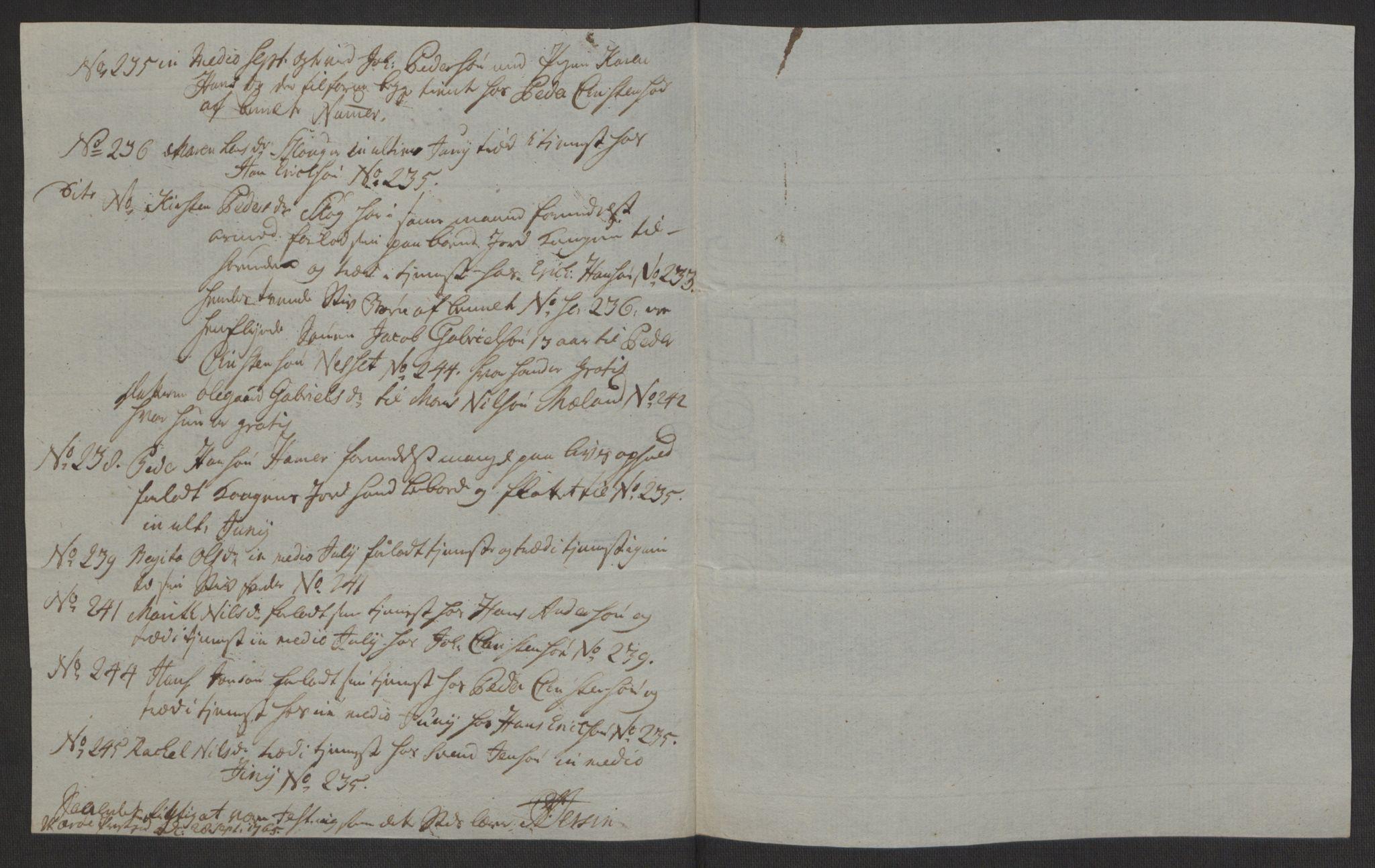 RA, Rentekammeret inntil 1814, Realistisk ordnet avdeling, Ol/L0022a: [Gg 10]: Ekstraskatten, 23.09.1762. Nordlands amt, 1763-1769, s. 350