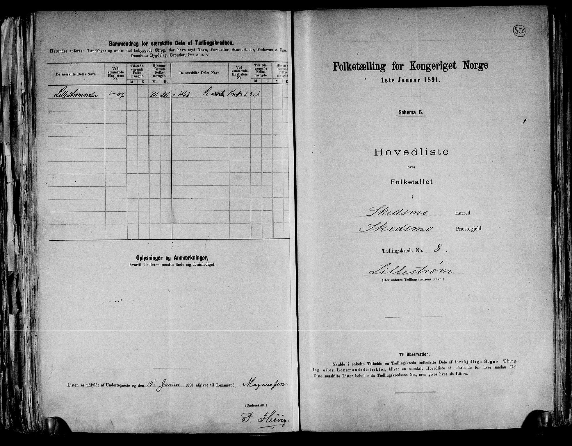 RA, Folketelling 1891 for 0231 Skedsmo herred, 1891, s. 18