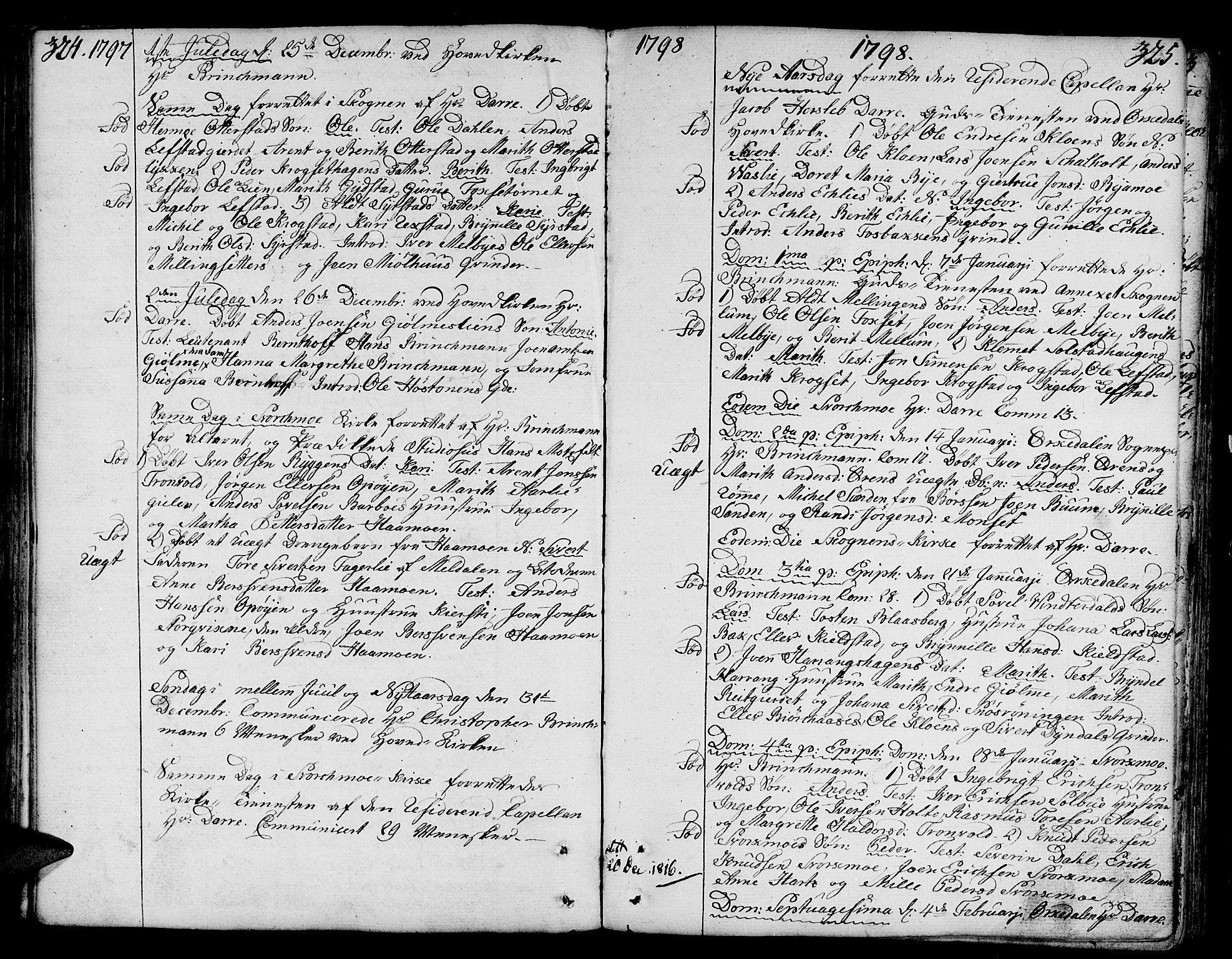 SAT, Ministerialprotokoller, klokkerbøker og fødselsregistre - Sør-Trøndelag, 668/L0802: Ministerialbok nr. 668A02, 1776-1799, s. 324-325