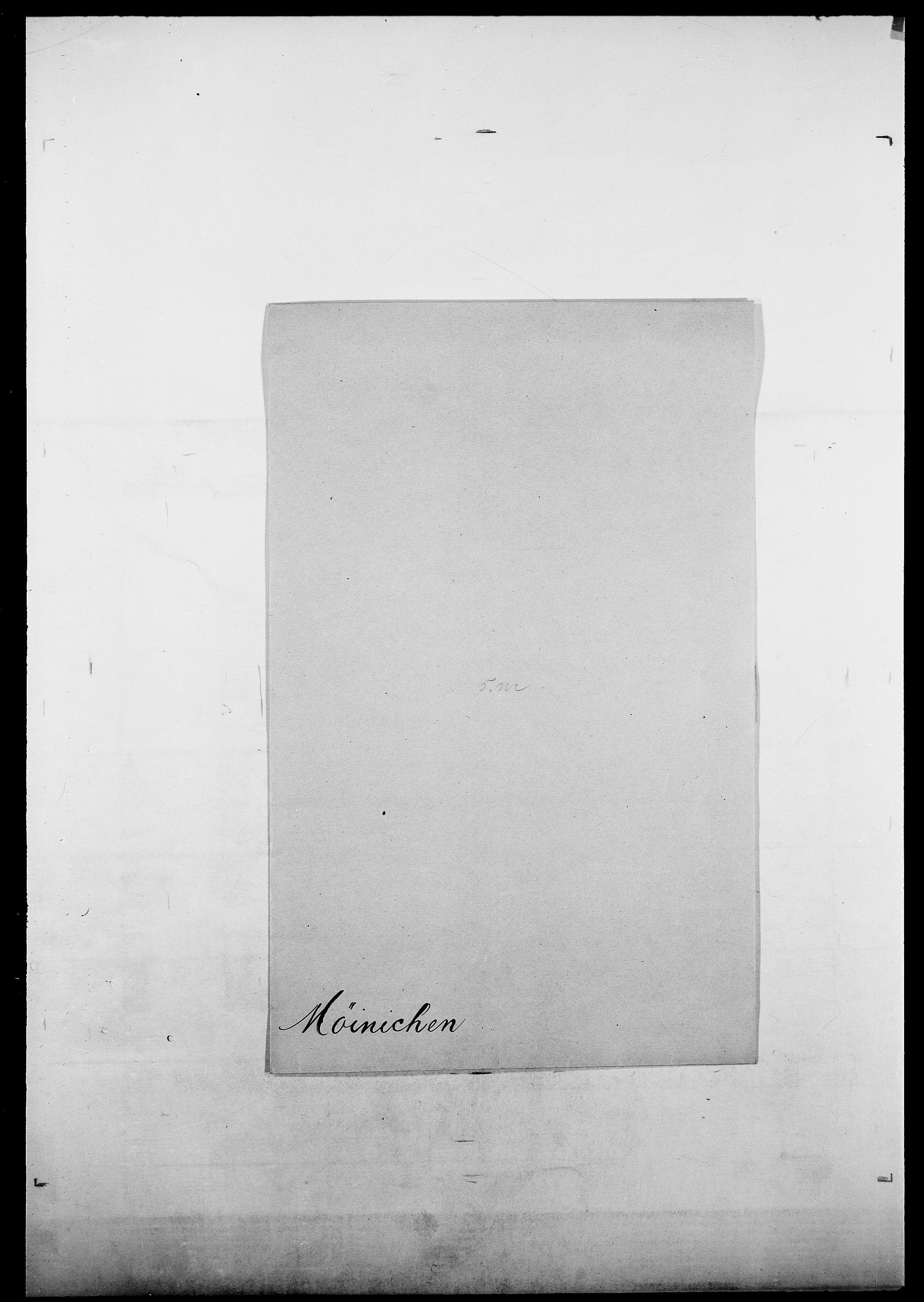 SAO, Delgobe, Charles Antoine - samling, D/Da/L0027: Morath - v. Møsting, s. 521