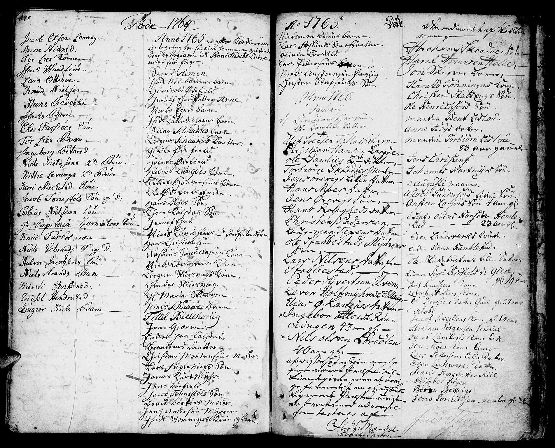SAKO, Sannidal kirkebøker, F/Fa/L0001: Ministerialbok nr. 1, 1702-1766, s. 328-329