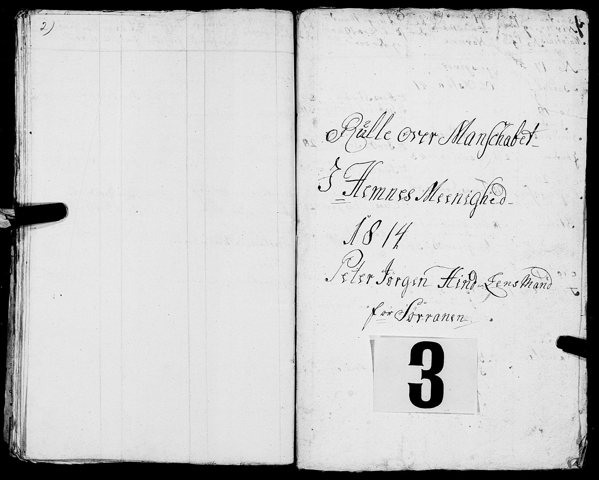 SAT, Fylkesmannen i Nordland, R/RA/L0013: Innrulleringsmanntall for Hemnes (Sør-Rana), 1809-1835, s. 69