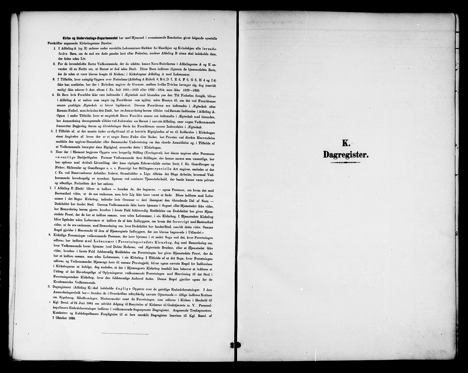 SAT, Ministerialprotokoller, klokkerbøker og fødselsregistre - Nord-Trøndelag, 768/L0575: Dagregister nr. 766A09, 1889-1931