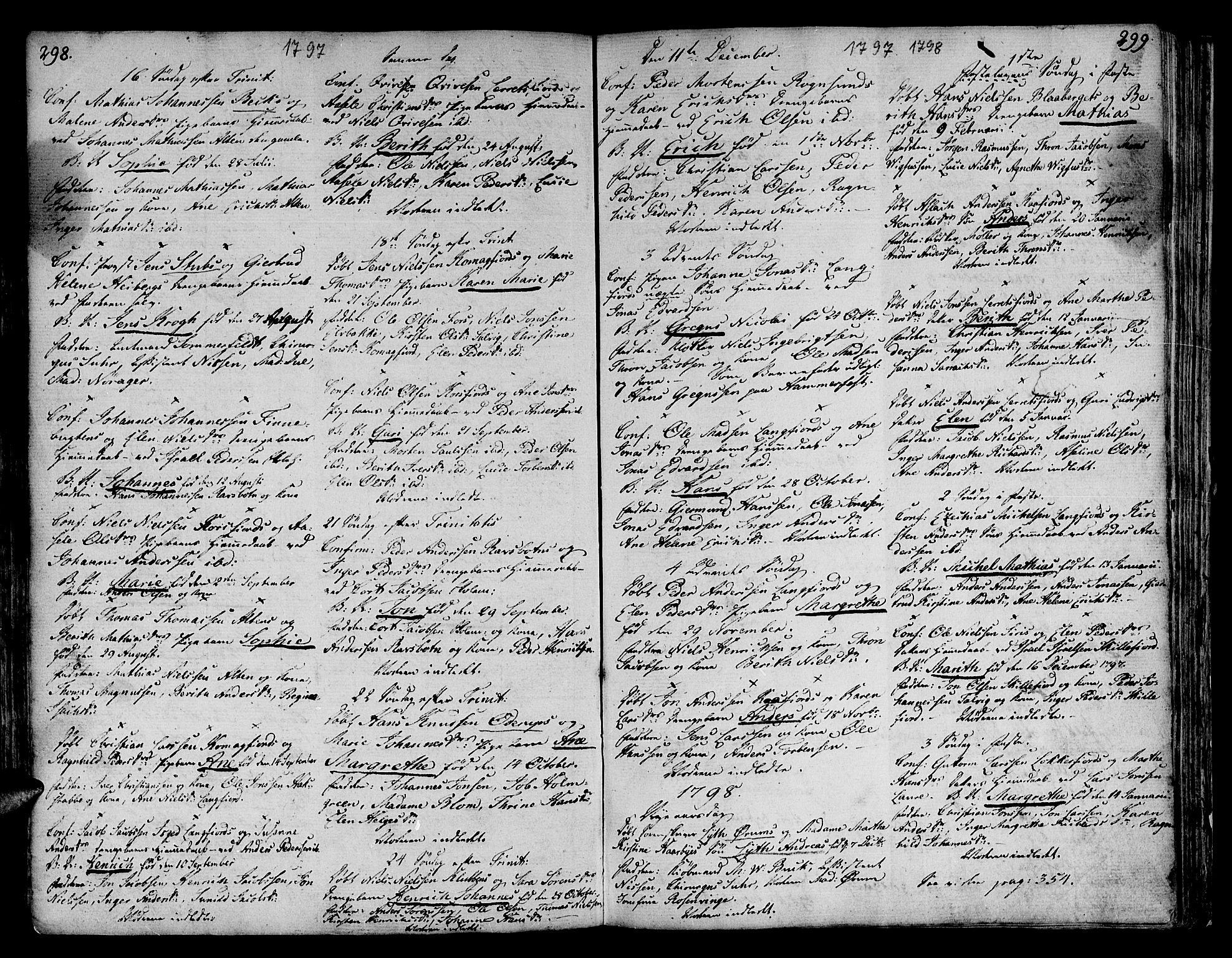 SATØ, Talvik sokneprestkontor, H/Ha/L0005kirke: Ministerialbok nr. 5, 1772-1798, s. 298-299