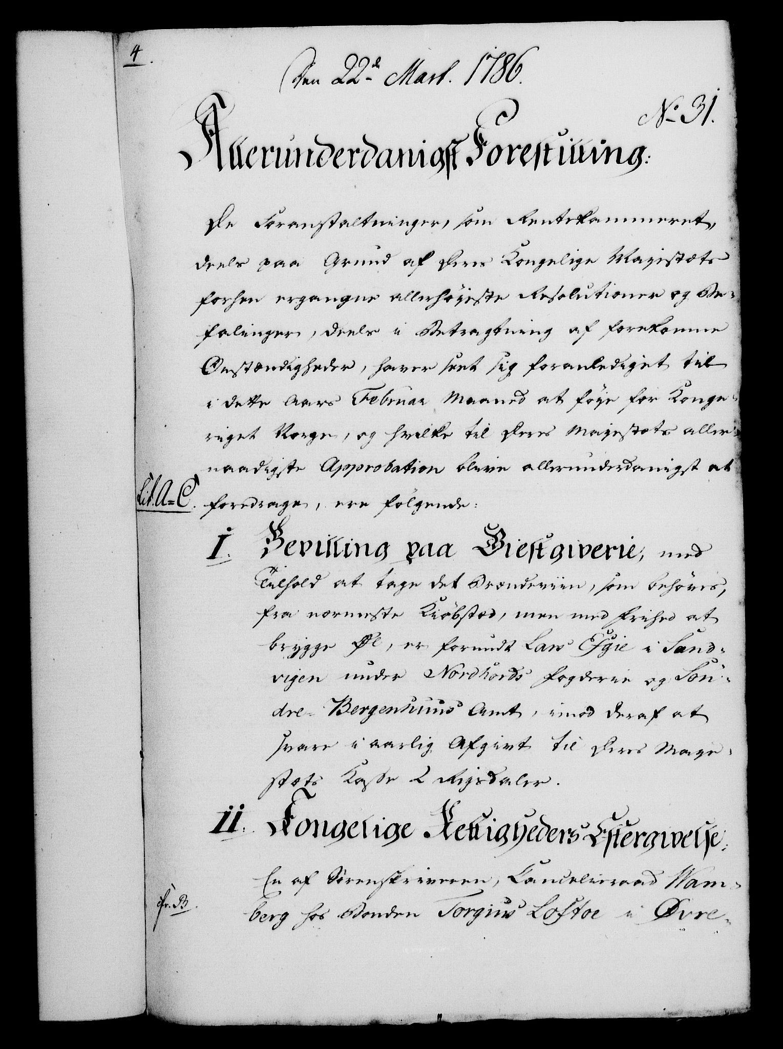 RA, Rentekammeret, Kammerkanselliet, G/Gf/Gfa/L0068: Norsk relasjons- og resolusjonsprotokoll (merket RK 52.68), 1786, s. 241