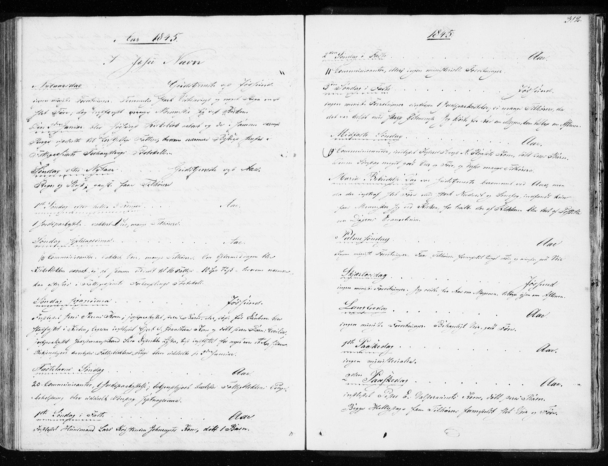 SAT, Ministerialprotokoller, klokkerbøker og fødselsregistre - Sør-Trøndelag, 655/L0676: Ministerialbok nr. 655A05, 1830-1847, s. 312