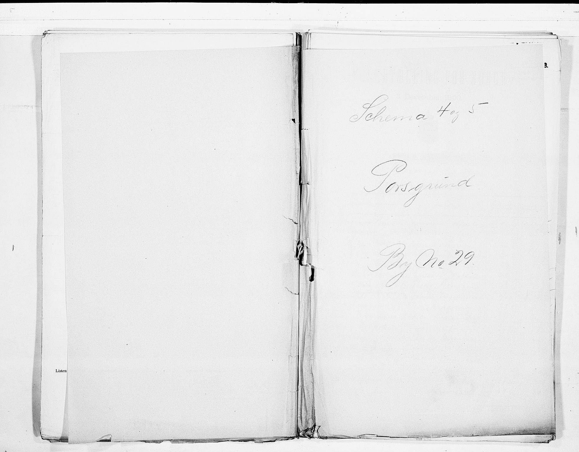 SAKO, Folketelling 1900 for 0805 Porsgrunn kjøpstad, 1900, s. 1