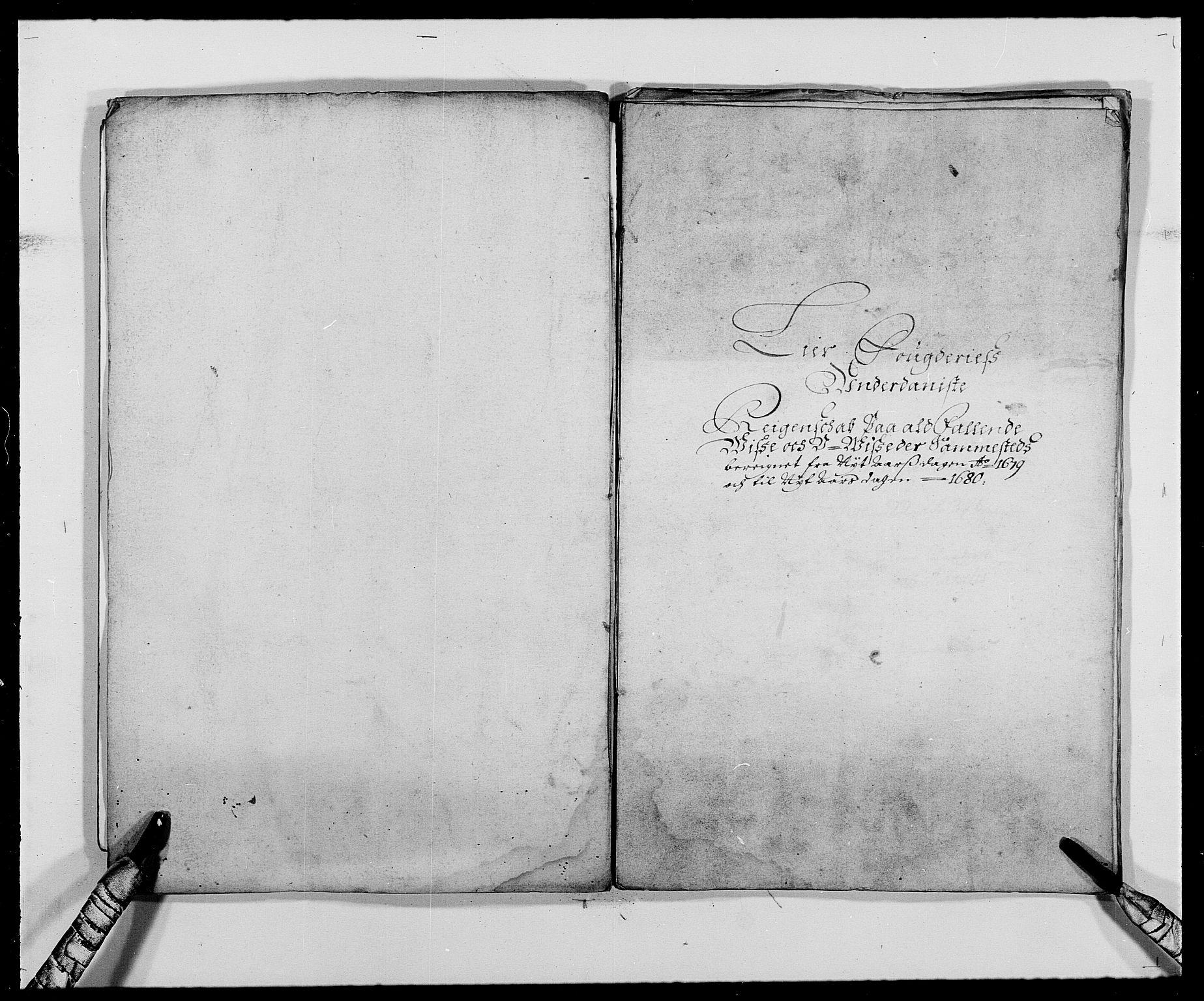 RA, Rentekammeret inntil 1814, Reviderte regnskaper, Fogderegnskap, R27/L1687: Fogderegnskap Lier, 1678-1686, s. 306