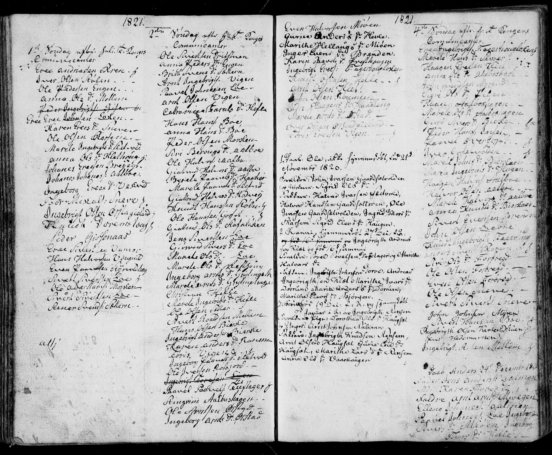 SAT, Ministerialprotokoller, klokkerbøker og fødselsregistre - Sør-Trøndelag, 678/L0912: Klokkerbok nr. 678C01, 1811-1824