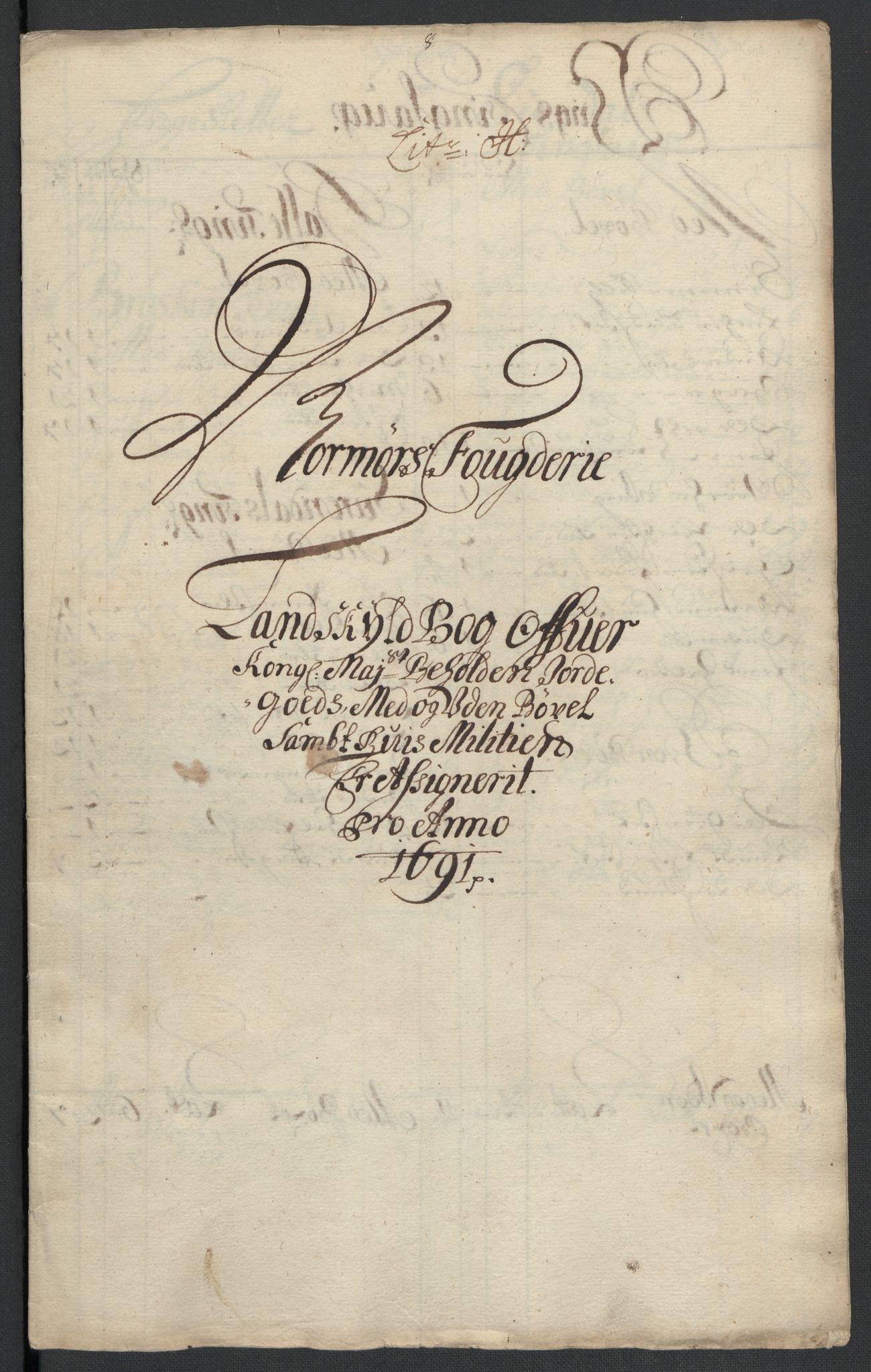 RA, Rentekammeret inntil 1814, Reviderte regnskaper, Fogderegnskap, R56/L3734: Fogderegnskap Nordmøre, 1690-1691, s. 364