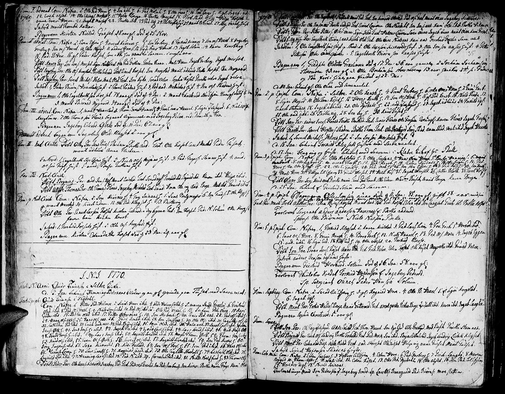 SAT, Ministerialprotokoller, klokkerbøker og fødselsregistre - Sør-Trøndelag, 695/L1138: Ministerialbok nr. 695A02 /1, 1757-1801, s. 35
