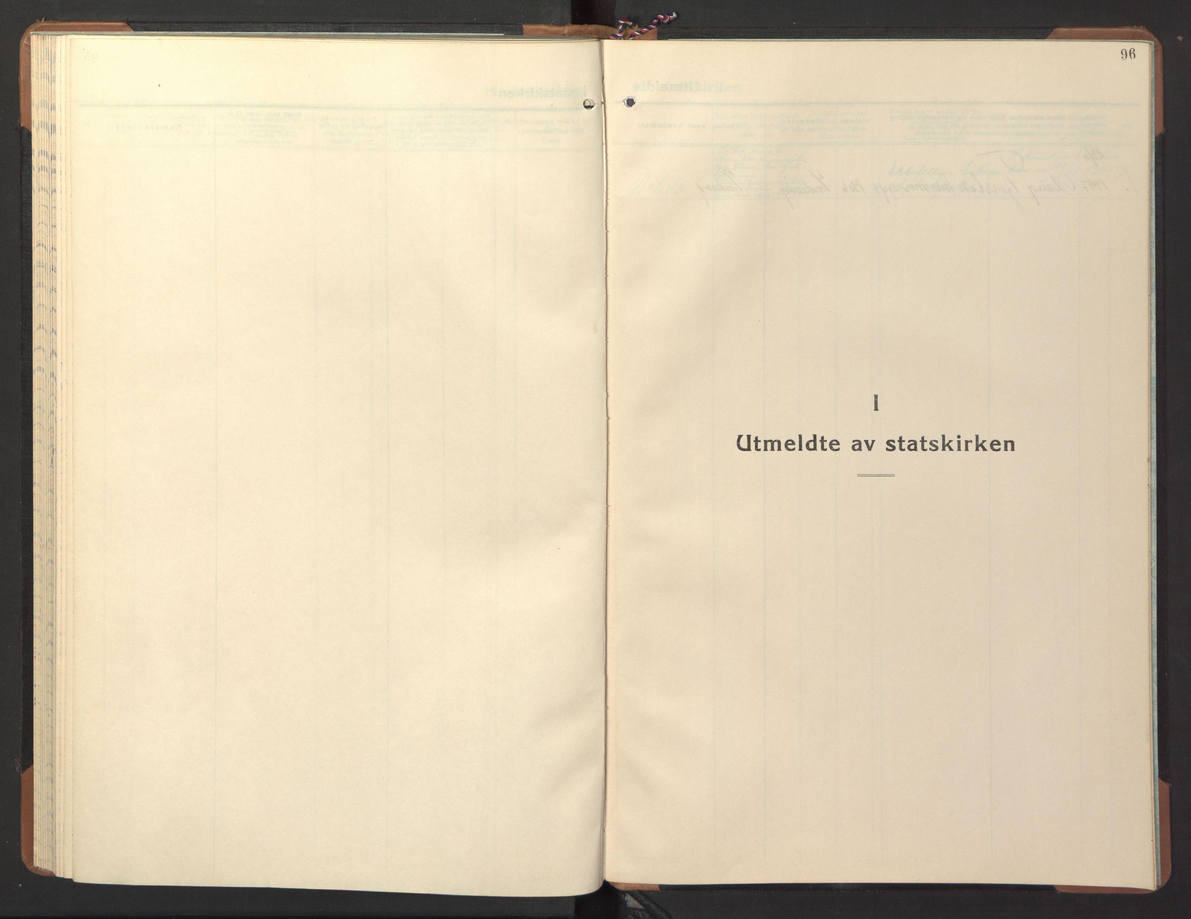 SAT, Ministerialprotokoller, klokkerbøker og fødselsregistre - Nord-Trøndelag, 746/L0456: Klokkerbok nr. 746C02, 1936-1948, s. 96