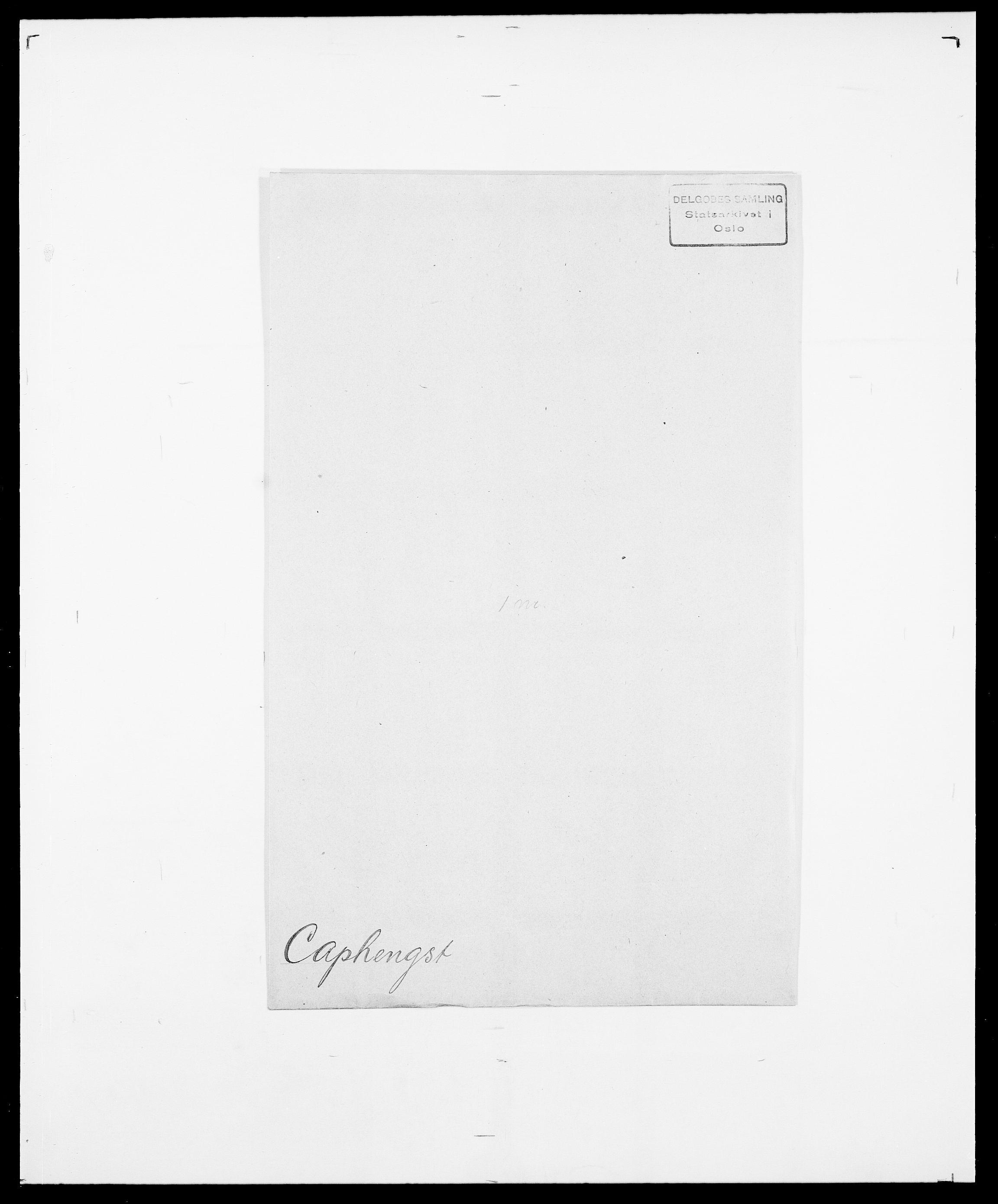 SAO, Delgobe, Charles Antoine - samling, D/Da/L0007: Buaas - Caphengst, s. 851