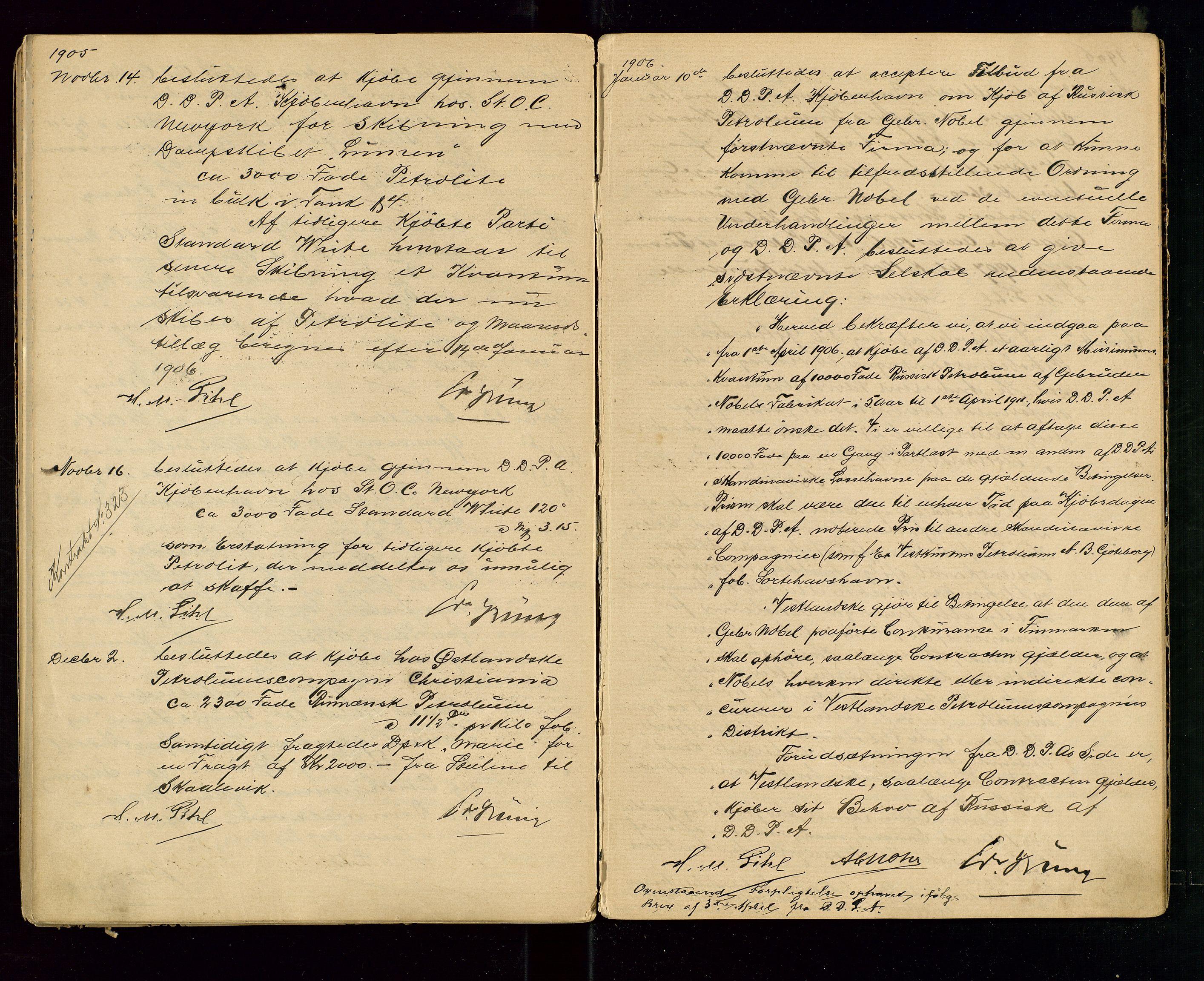 SAST, PA 1533 - A/S Vestlandske Petroleumscompani, A/Aa/L0001: Generalforsamlinger og styreprotokoller, 1890-1907, s. 60