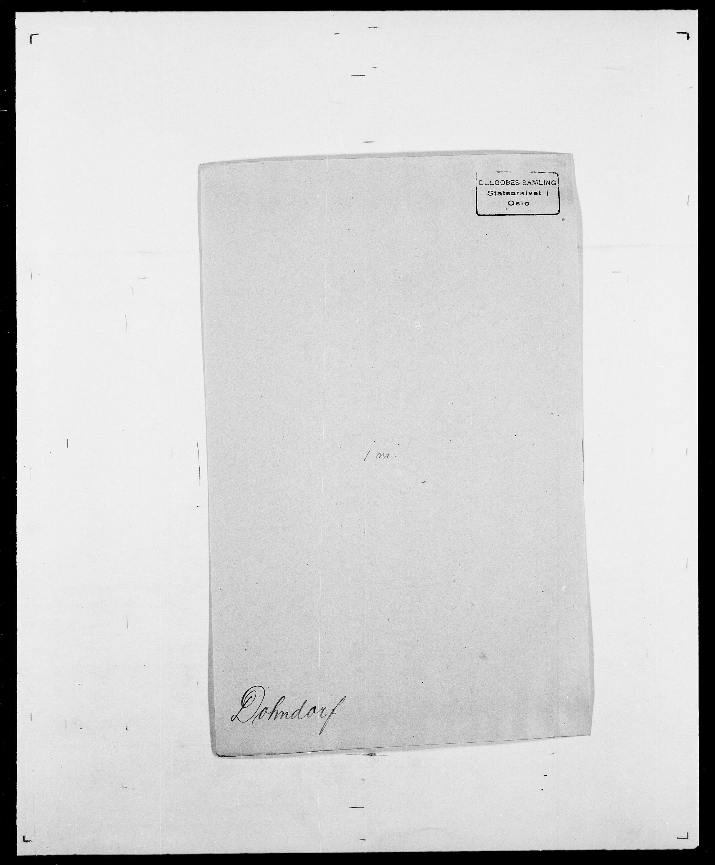 SAO, Delgobe, Charles Antoine - samling, D/Da/L0009: Dahl - v. Düren, s. 634