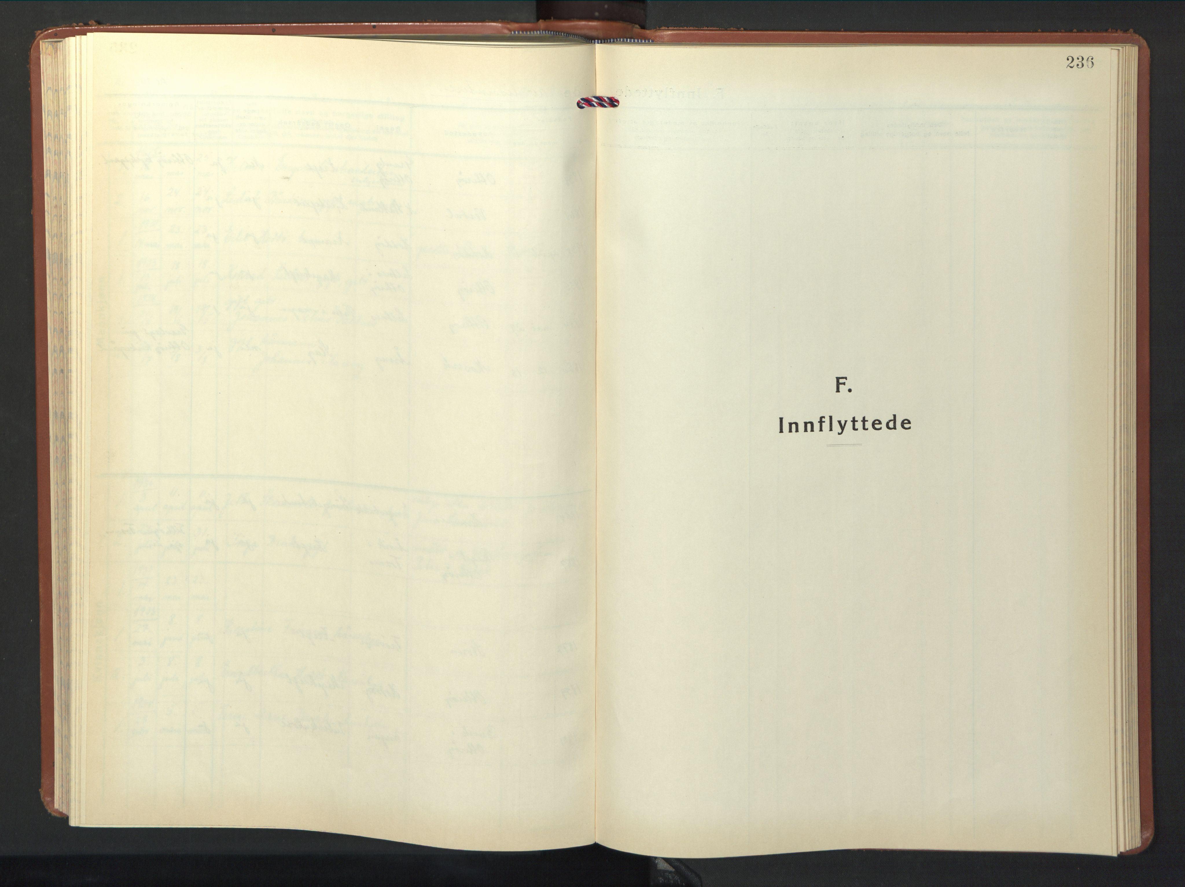 SAT, Ministerialprotokoller, klokkerbøker og fødselsregistre - Nord-Trøndelag, 774/L0631: Klokkerbok nr. 774C02, 1934-1950, s. 236