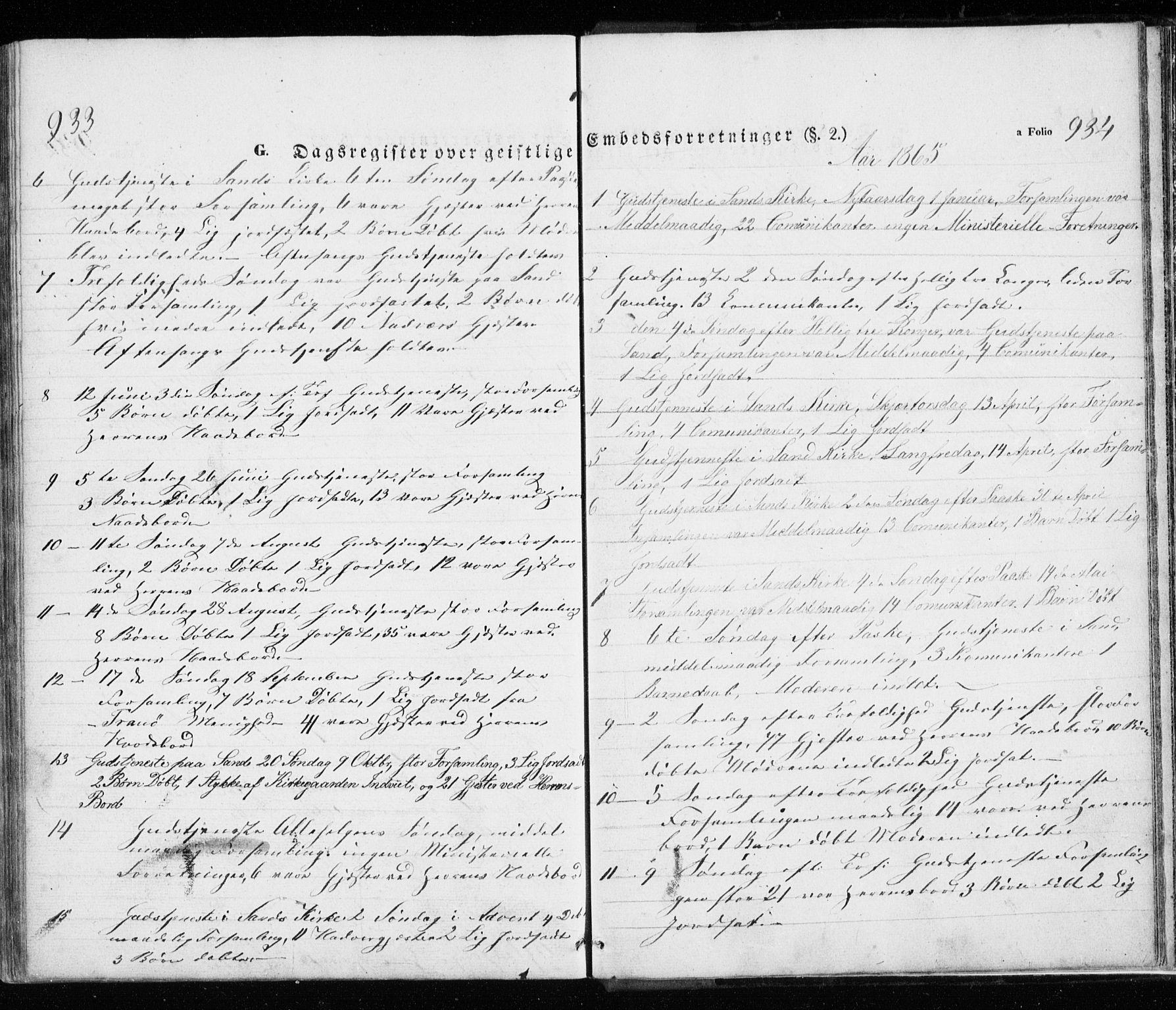 SATØ, Trondenes sokneprestkontor, H/Ha/L0010kirke: Ministerialbok nr. 10, 1840-1865, s. 933-934