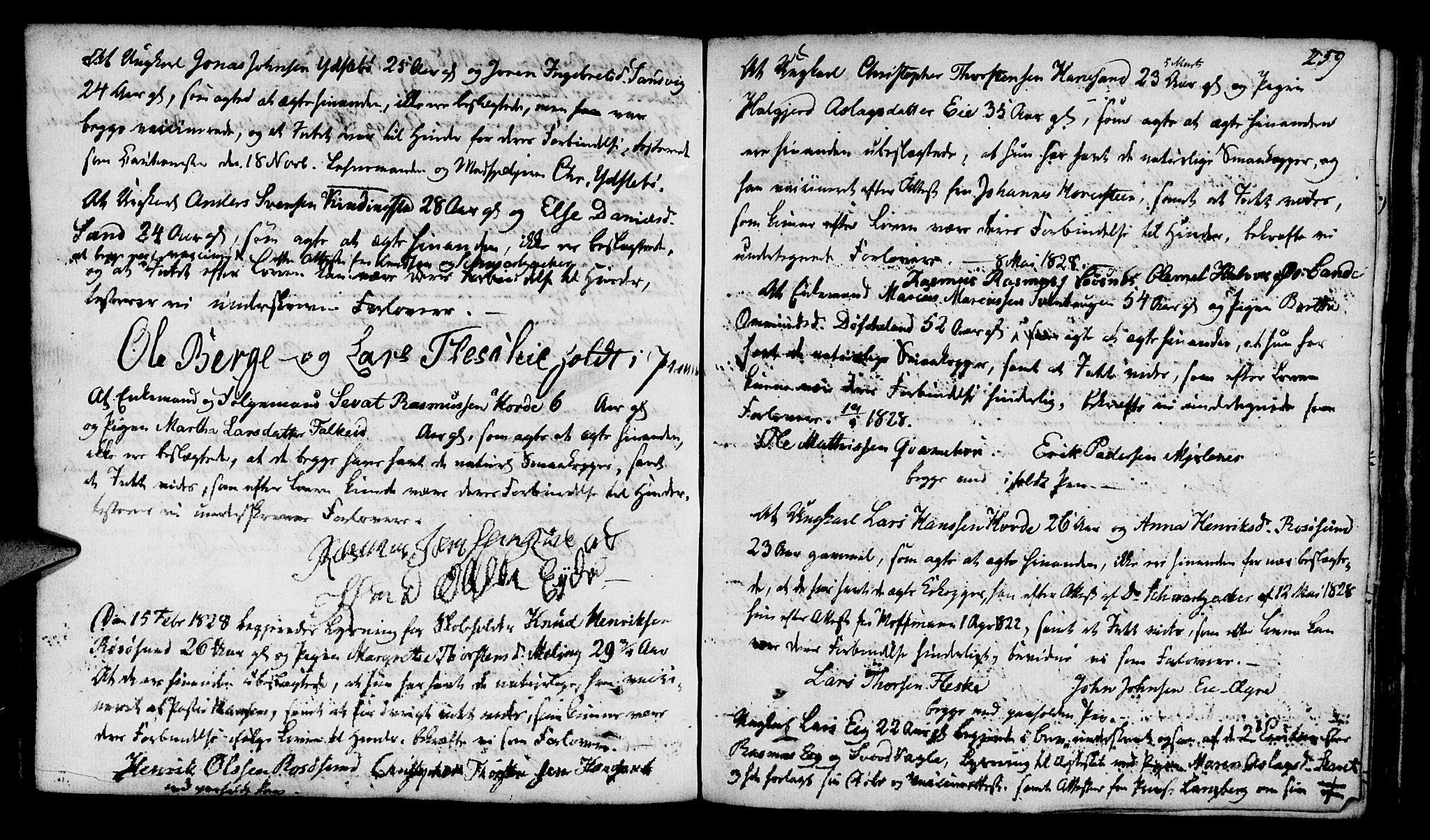 SAST, Finnøy sokneprestkontor, H/Ha/Haa/L0005: Ministerialbok nr. A 5, 1773-1816, s. 259