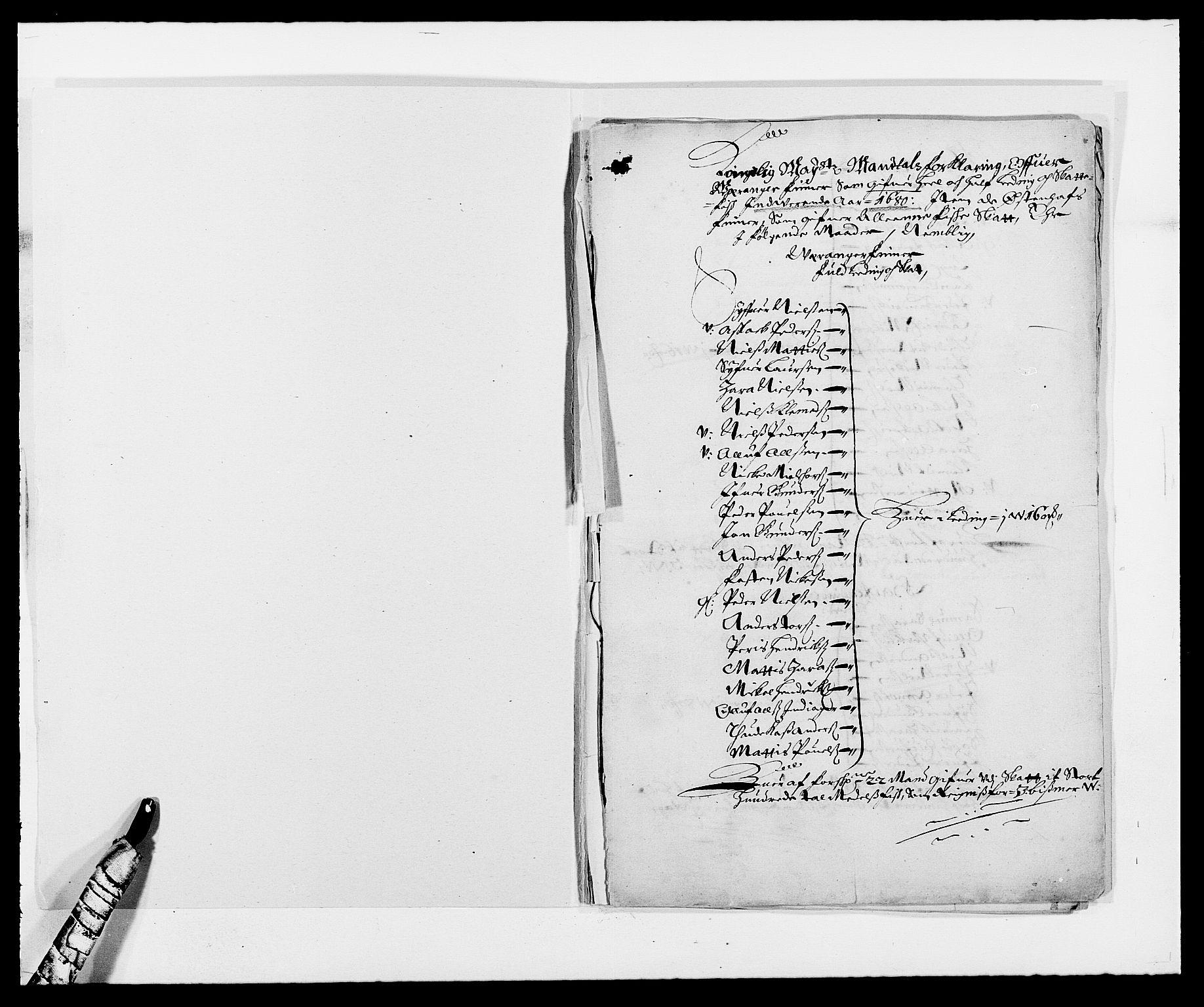 RA, Rentekammeret inntil 1814, Reviderte regnskaper, Fogderegnskap, R69/L4850: Fogderegnskap Finnmark/Vardøhus, 1680-1690, s. 2