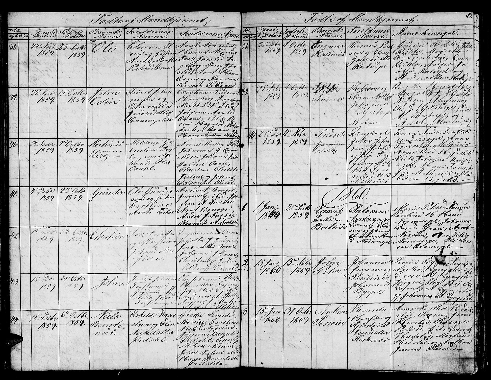 SAT, Ministerialprotokoller, klokkerbøker og fødselsregistre - Nord-Trøndelag, 730/L0299: Klokkerbok nr. 730C02, 1849-1871, s. 59
