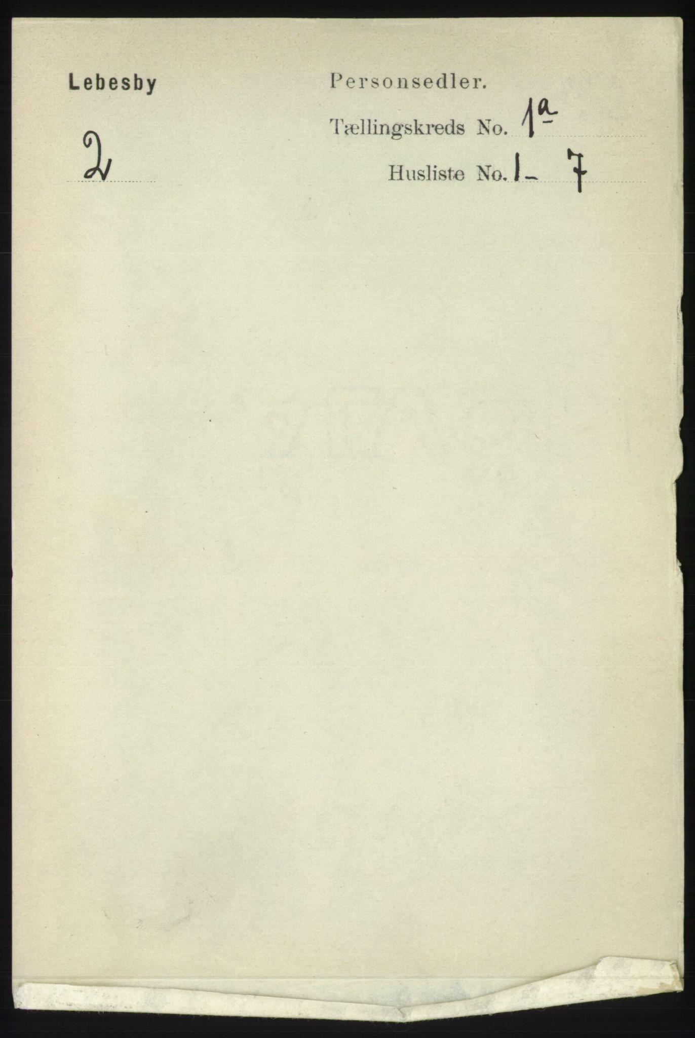 RA, Folketelling 1891 for 2022 Lebesby herred, 1891, s. 29