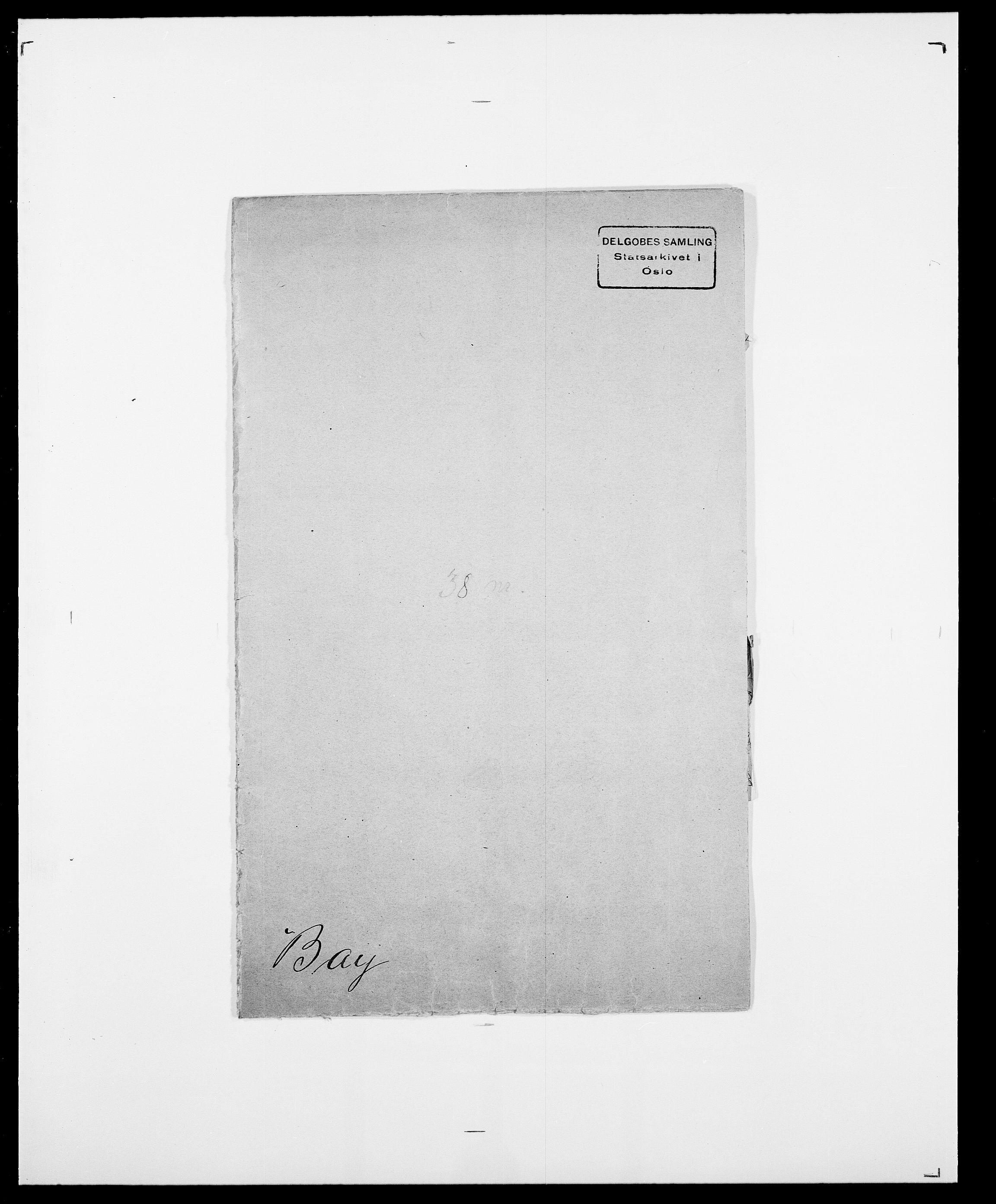 SAO, Delgobe, Charles Antoine - samling, D/Da/L0003: Barca - Bergen, s. 475