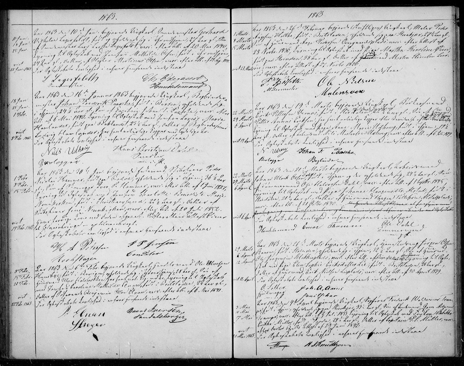 SAT, Ministerialprotokoller, klokkerbøker og fødselsregistre - Sør-Trøndelag, 601/L0052: Ministerialbok nr. 601A20, 1852-1866