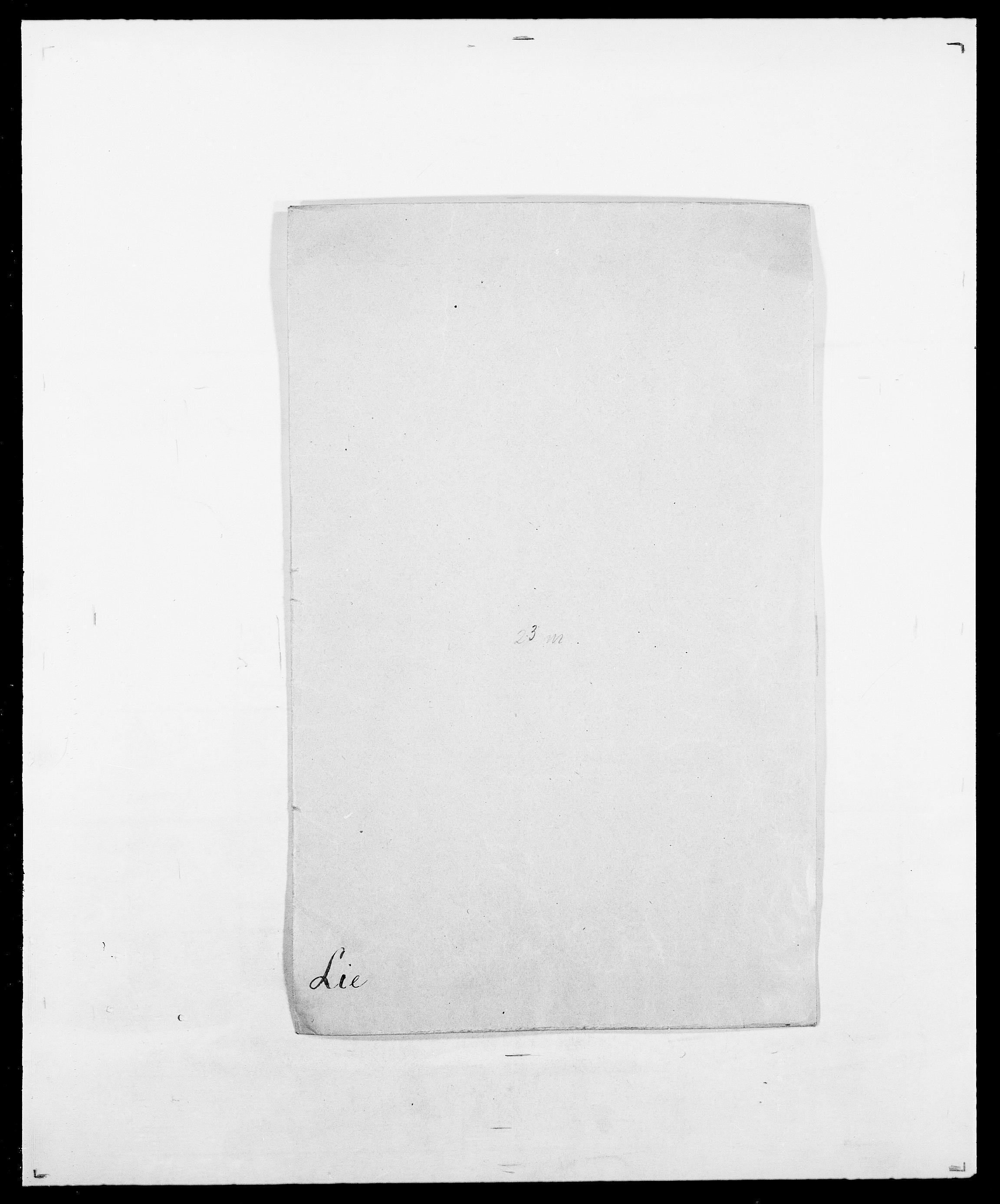 SAO, Delgobe, Charles Antoine - samling, D/Da/L0023: Lau - Lirvyn, s. 329