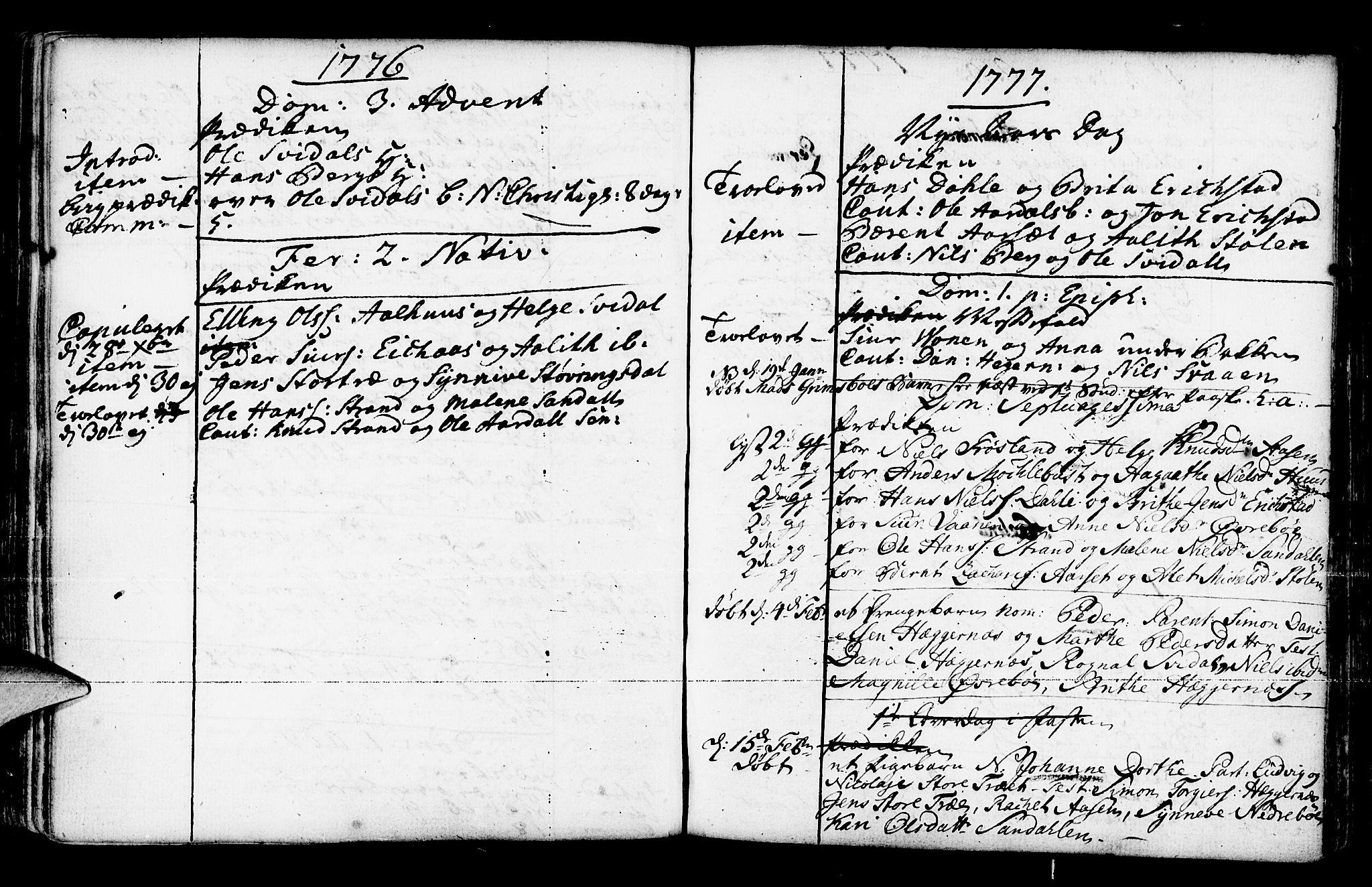 SAB, Jølster Sokneprestembete, Ministerialbok nr. A 3, 1748-1789, s. 154