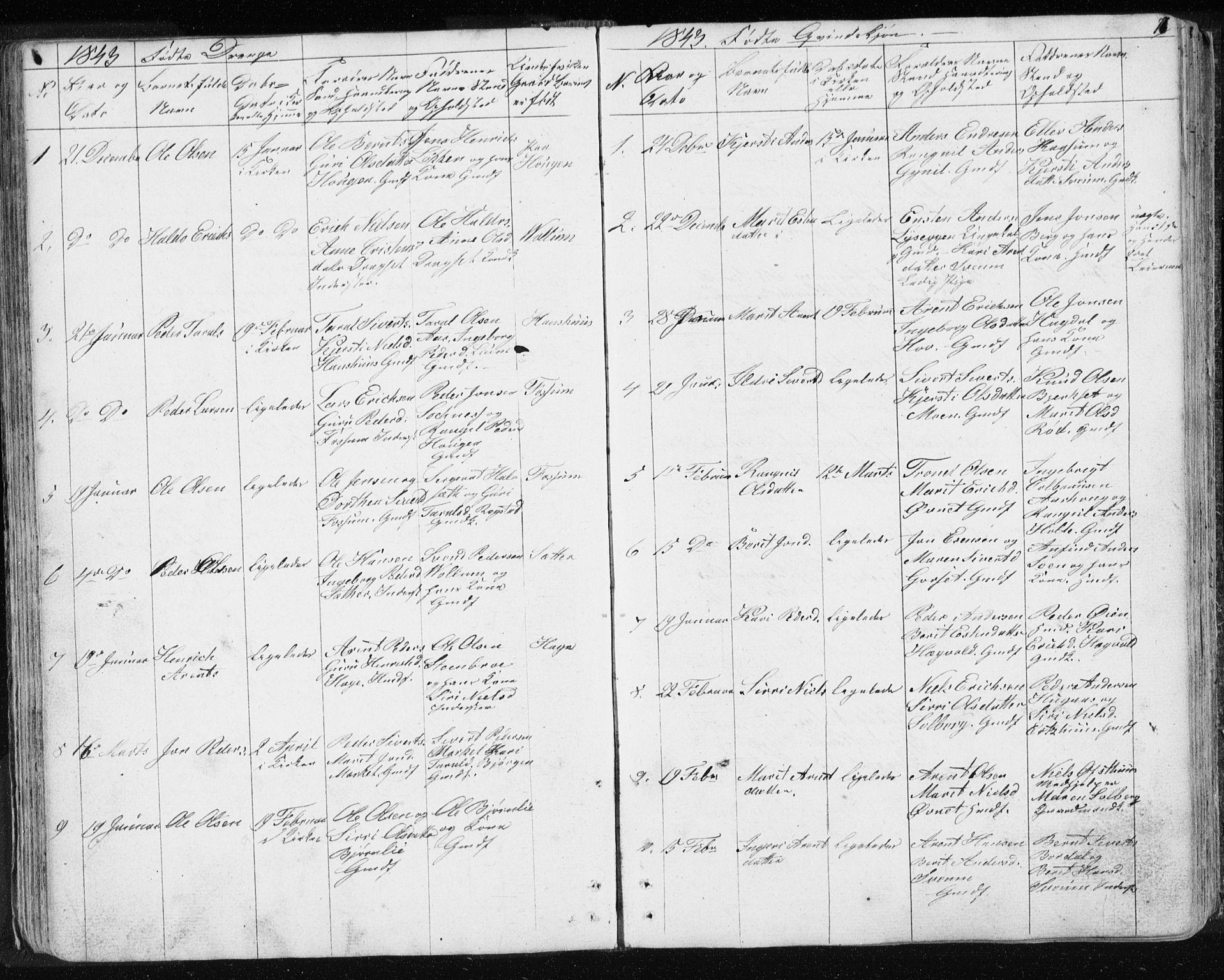 SAT, Ministerialprotokoller, klokkerbøker og fødselsregistre - Sør-Trøndelag, 689/L1043: Klokkerbok nr. 689C02, 1816-1892, s. 77