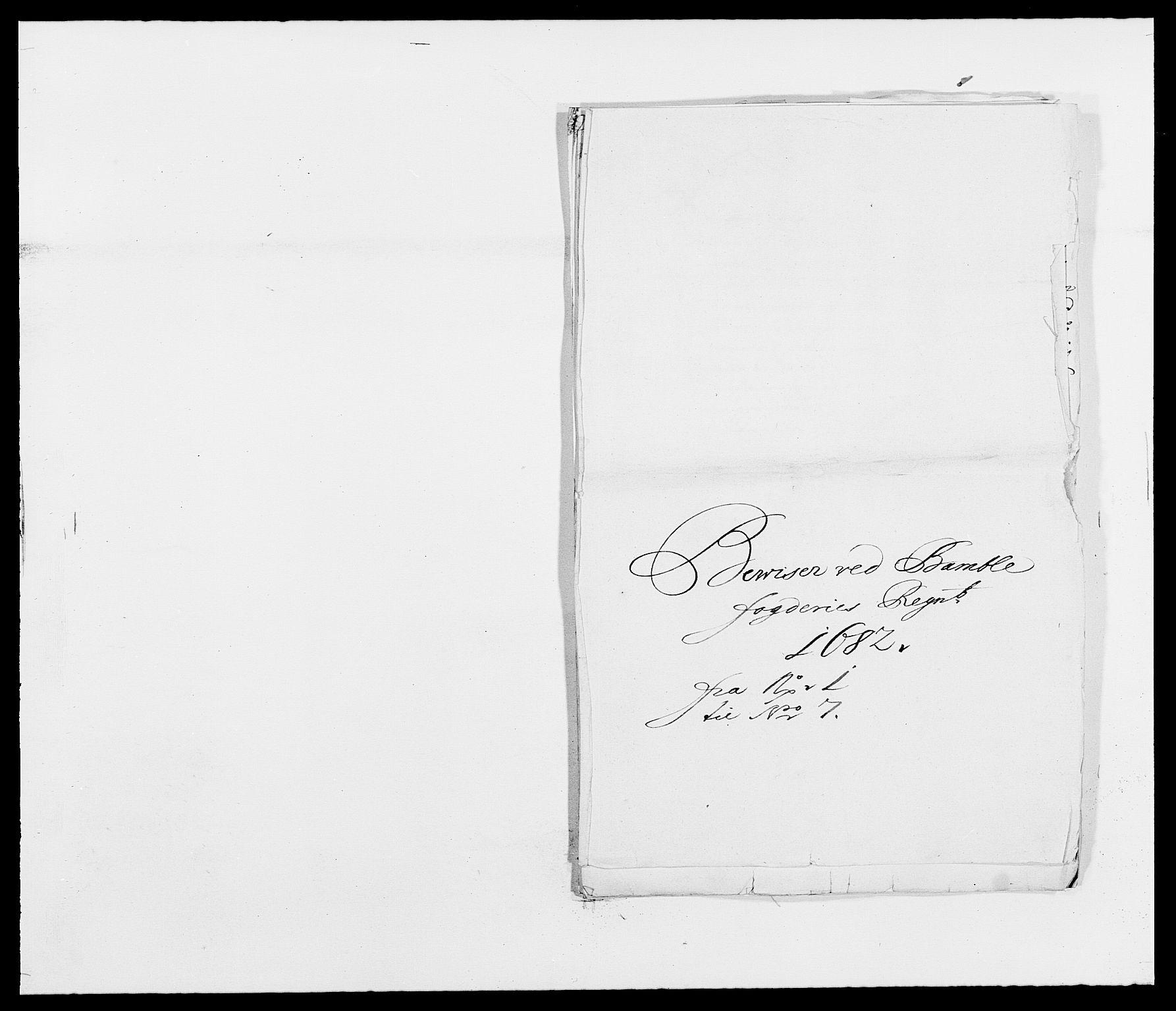RA, Rentekammeret inntil 1814, Reviderte regnskaper, Fogderegnskap, R34/L2046: Fogderegnskap Bamble, 1682-1683, s. 224