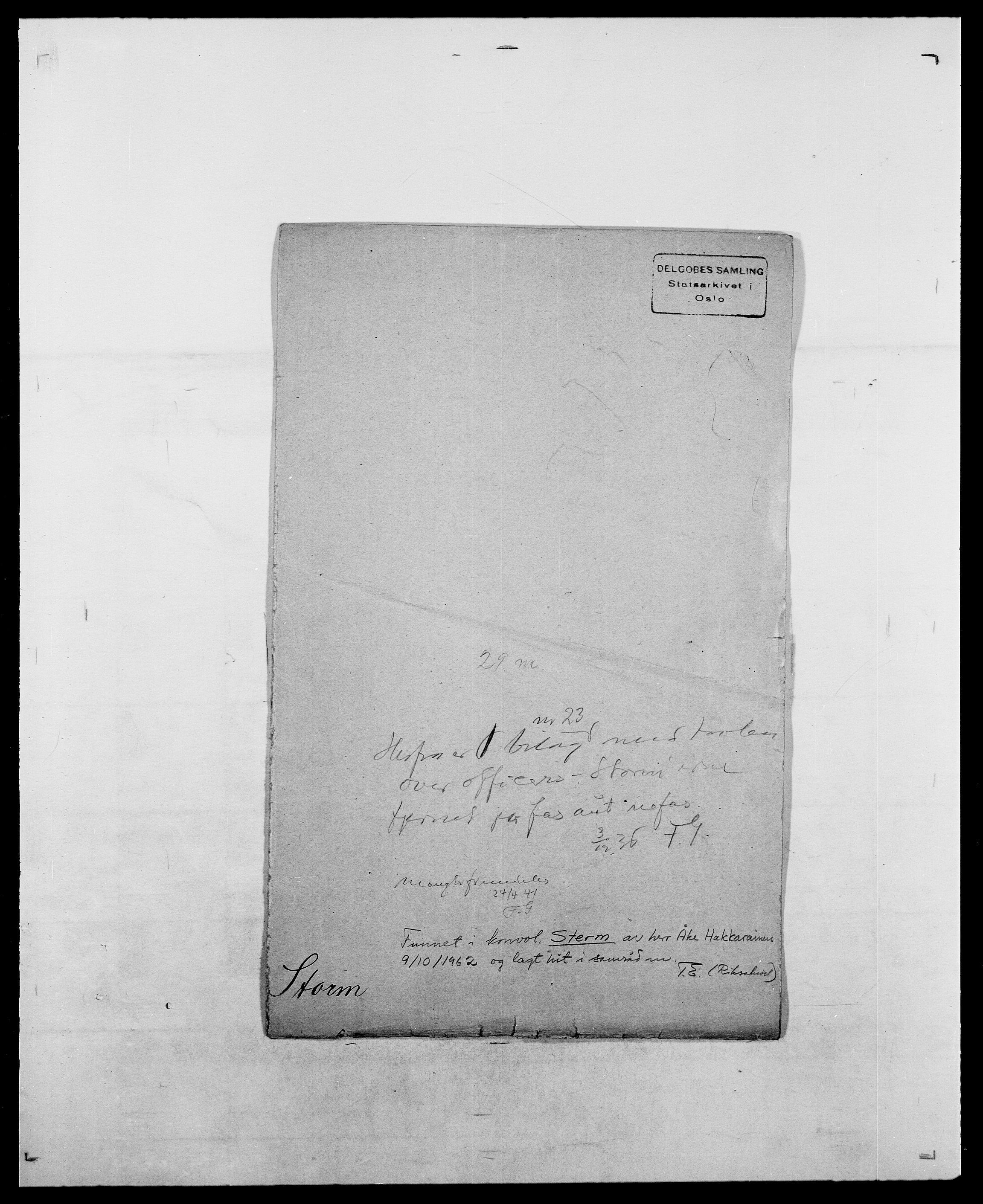 SAO, Delgobe, Charles Antoine - samling, D/Da/L0037: Steen, Sthen, Stein - Svare, Svanige, Svanne, se også Svanning og Schwane, s. 478