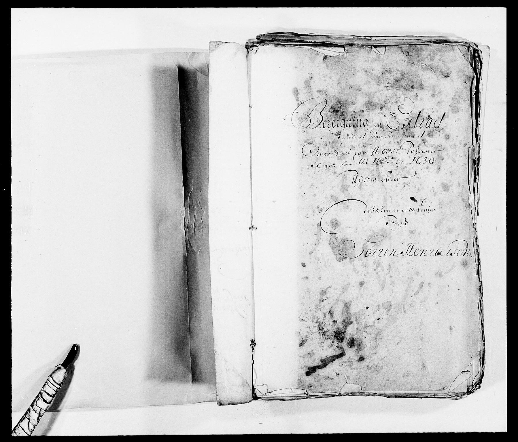 RA, Rentekammeret inntil 1814, Reviderte regnskaper, Fogderegnskap, R02/L0102: Fogderegnskap Moss og Verne kloster, 1675-1681, s. 2