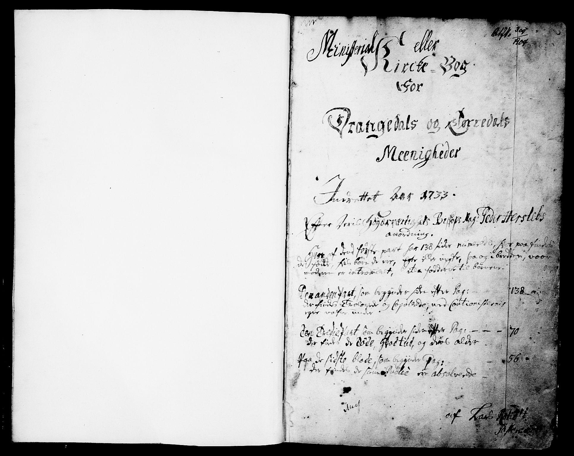 SAKO, Drangedal kirkebøker, F/Fa/L0002: Ministerialbok nr. 2, 1733-1753