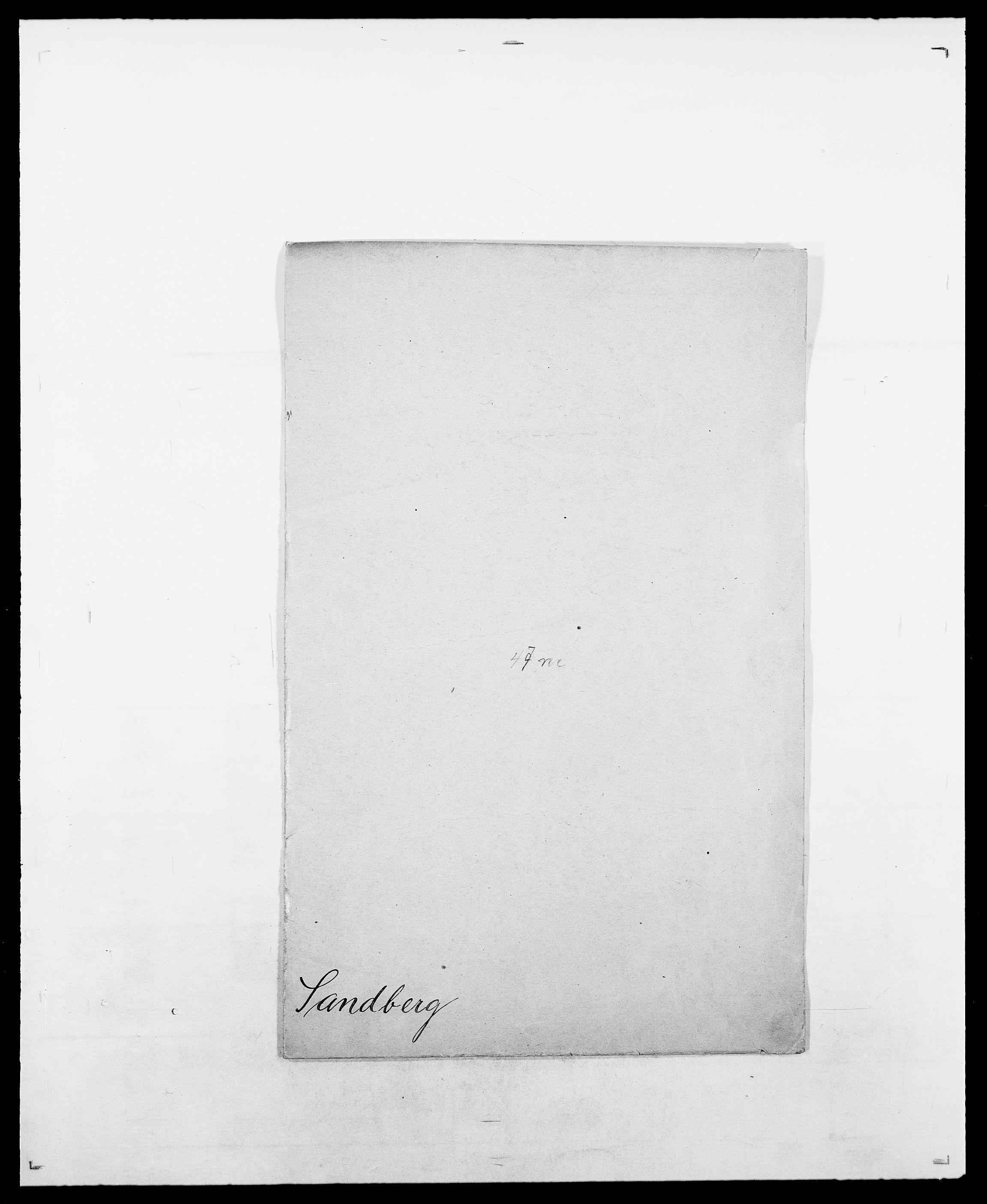 SAO, Delgobe, Charles Antoine - samling, D/Da/L0034: Saabye - Schmincke, s. 117