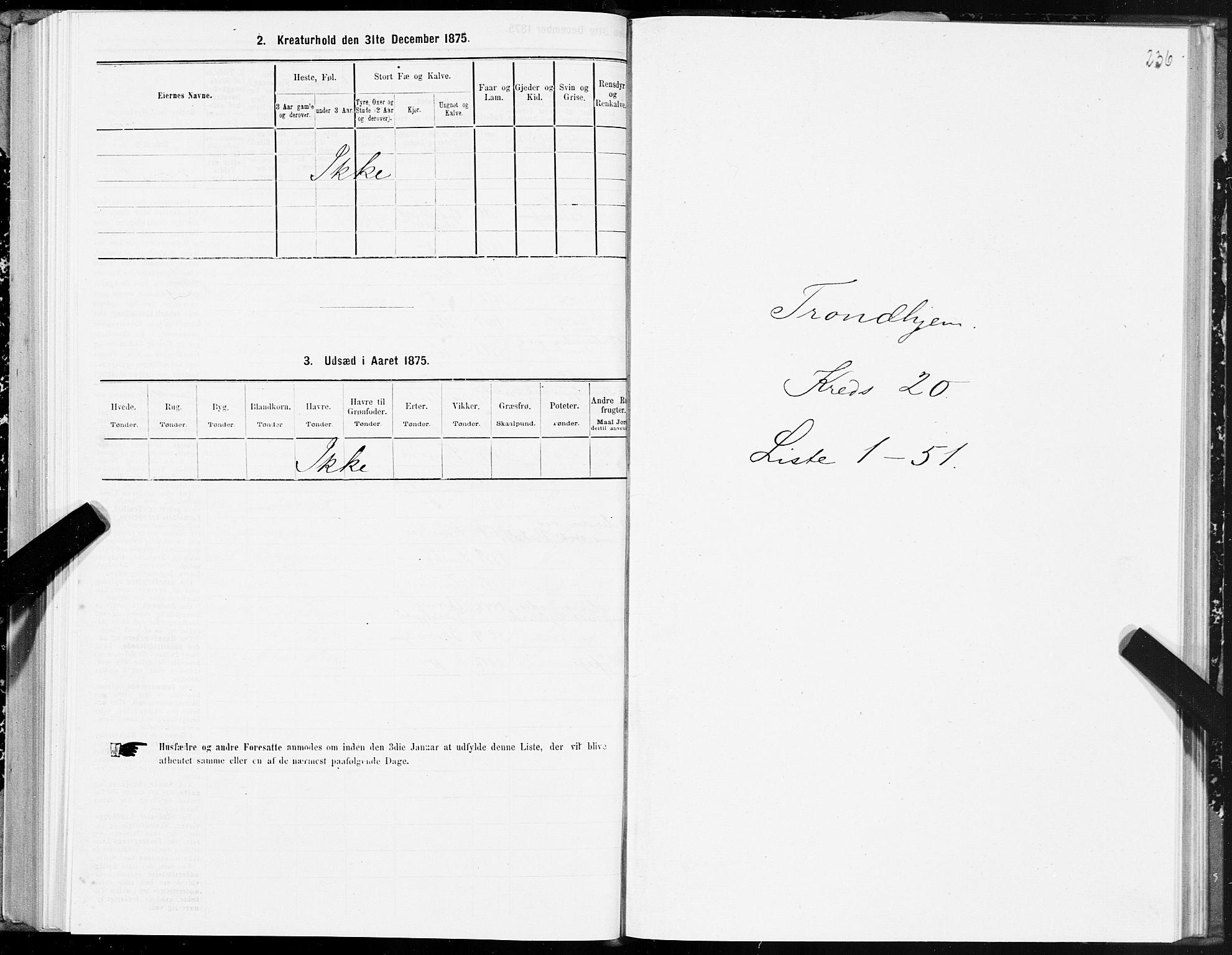 SAT, Folketelling 1875 for 1601 Trondheim kjøpstad, 1875, s. 10236