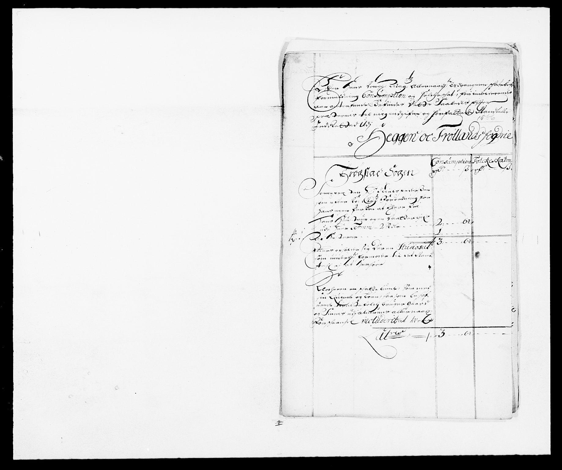 RA, Rentekammeret inntil 1814, Reviderte regnskaper, Fogderegnskap, R06/L0281: Fogderegnskap Heggen og Frøland, 1678-1686, s. 105