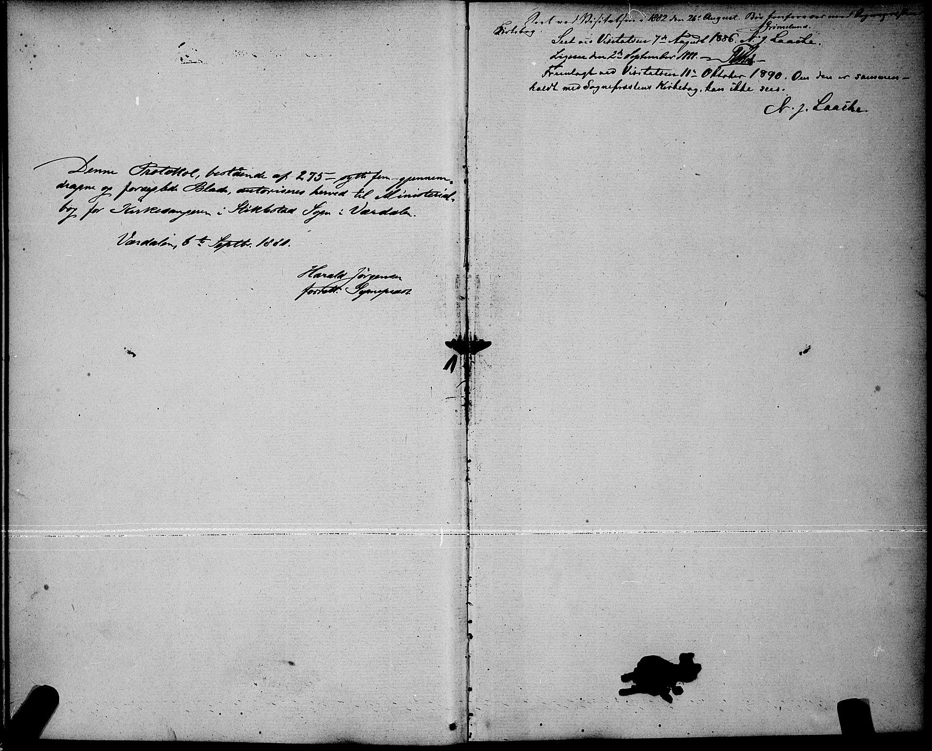 SAT, Ministerialprotokoller, klokkerbøker og fødselsregistre - Nord-Trøndelag, 723/L0256: Klokkerbok nr. 723C04, 1879-1890