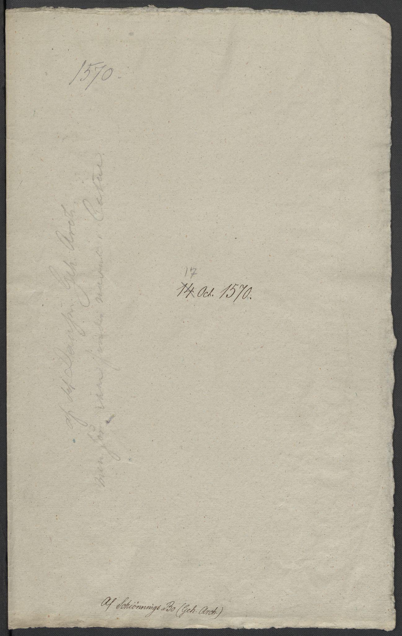 RA, Riksarkivets diplomsamling, F02/L0075: Dokumenter, 1570-1571, s. 34