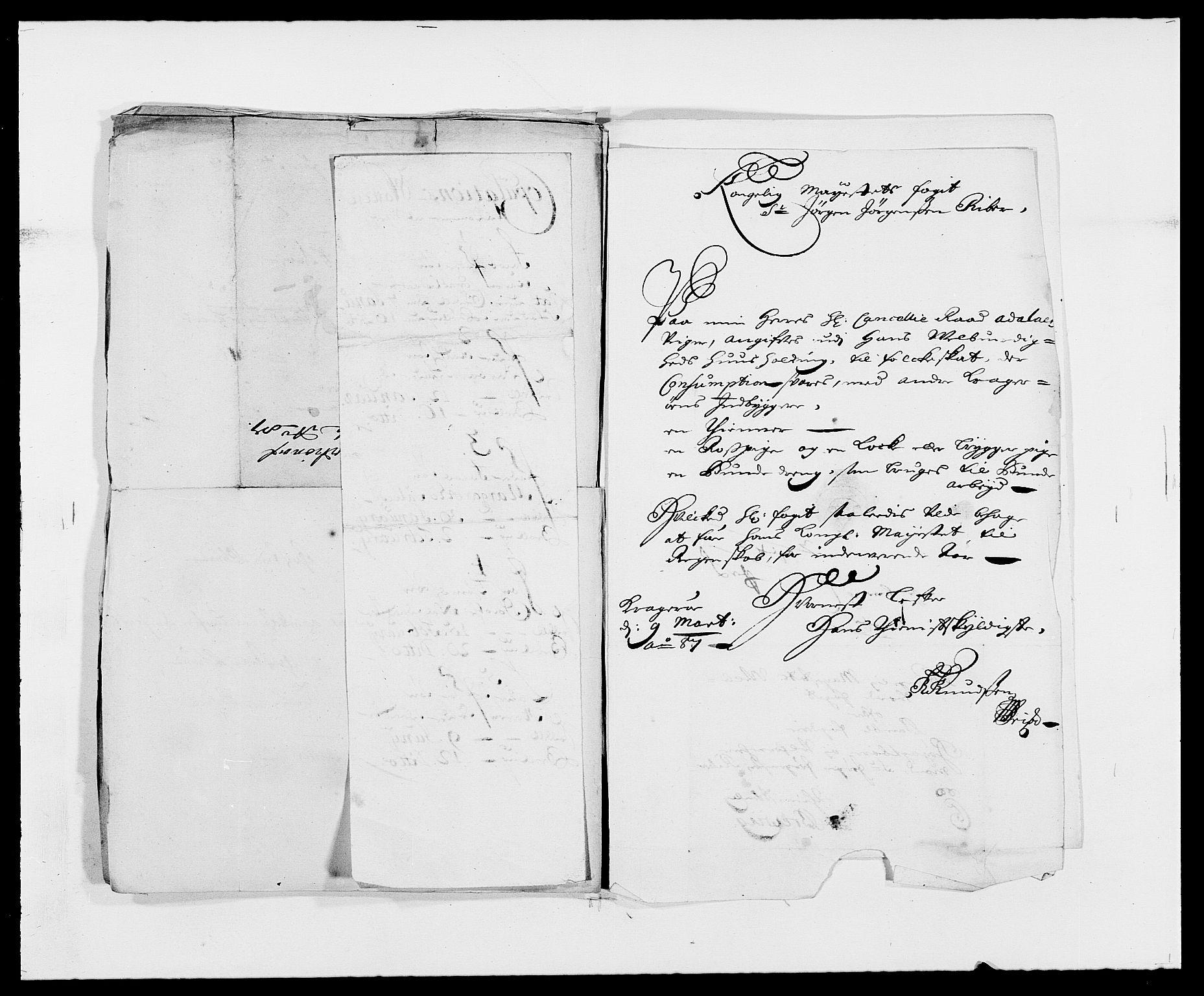 RA, Rentekammeret inntil 1814, Reviderte regnskaper, Fogderegnskap, R34/L2049: Fogderegnskap Bamble, 1685-1687, s. 317