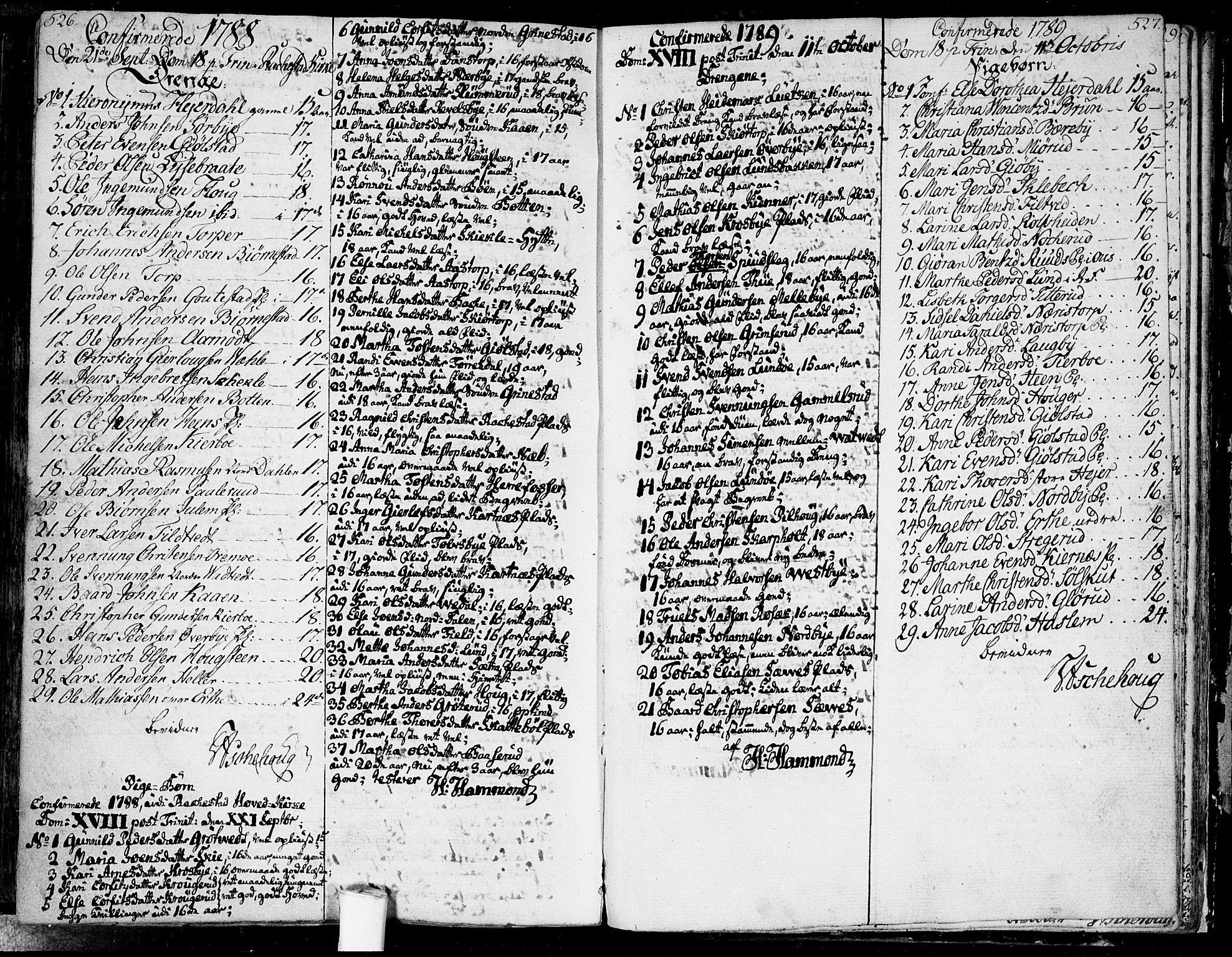 SAO, Rakkestad prestekontor Kirkebøker, F/Fa/L0005: Ministerialbok nr. I 5, 1784-1814, s. 526-527