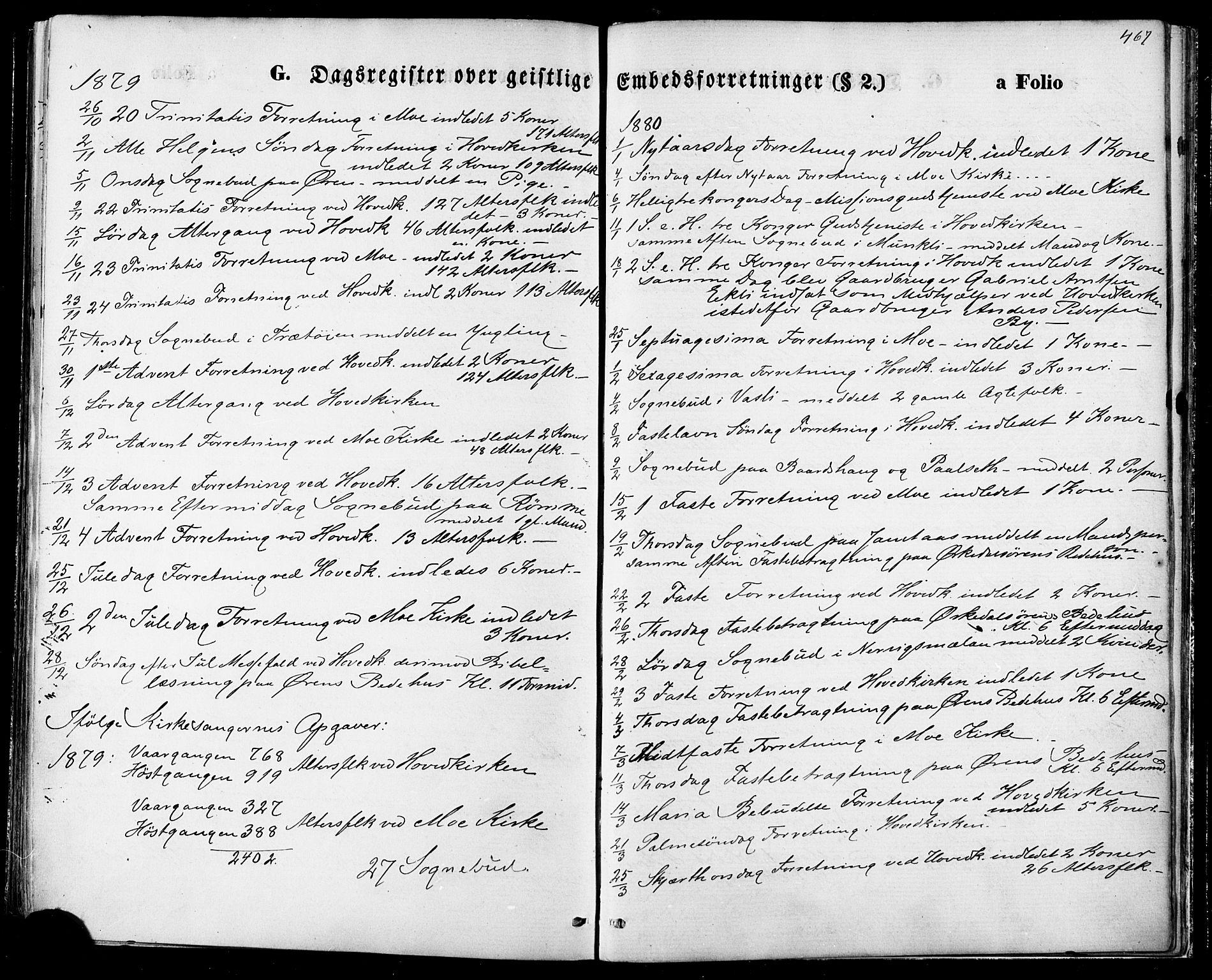 SAT, Ministerialprotokoller, klokkerbøker og fødselsregistre - Sør-Trøndelag, 668/L0807: Ministerialbok nr. 668A07, 1870-1880, s. 467