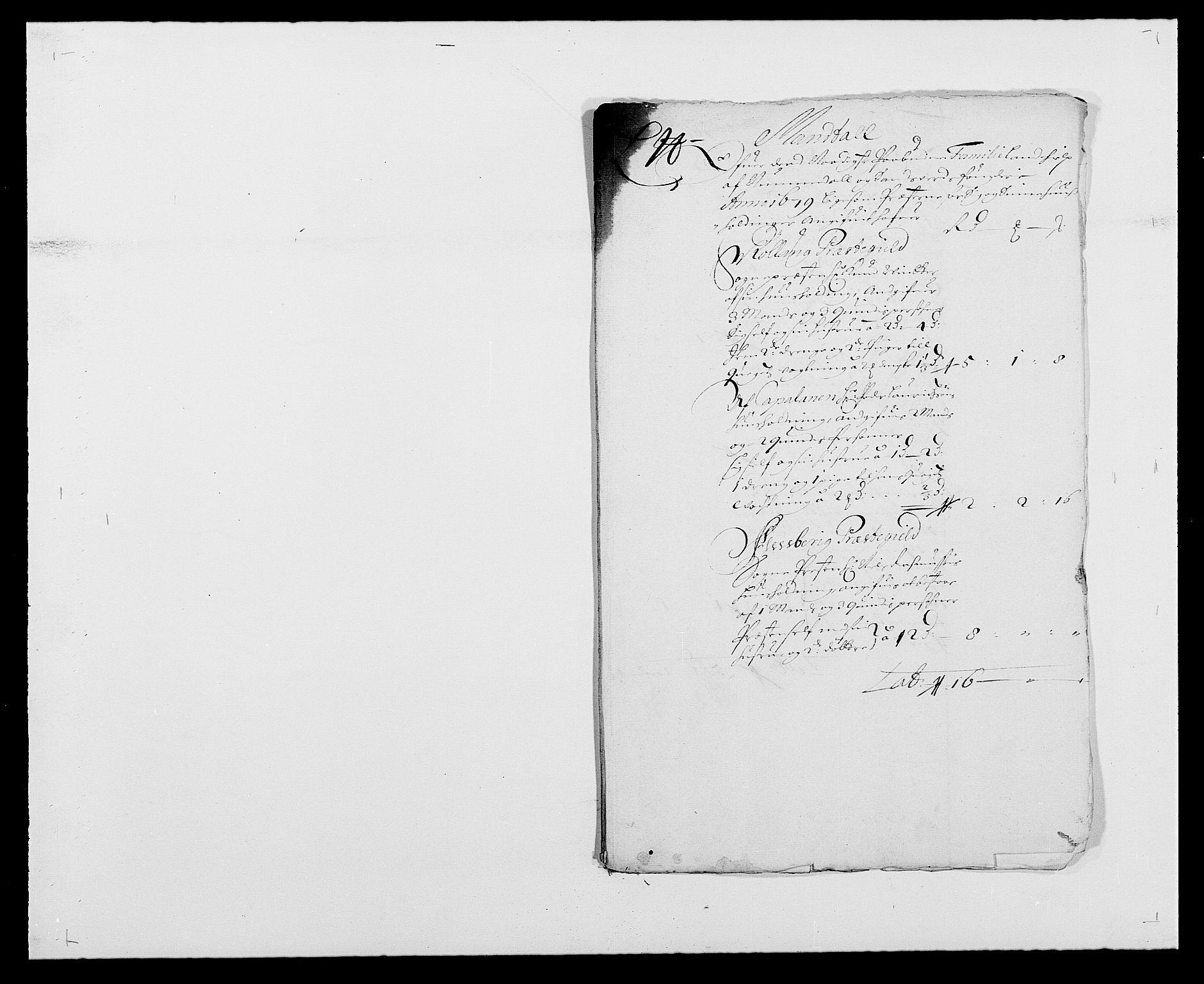 RA, Rentekammeret inntil 1814, Reviderte regnskaper, Fogderegnskap, R24/L1569: Fogderegnskap Numedal og Sandsvær, 1679-1686, s. 154